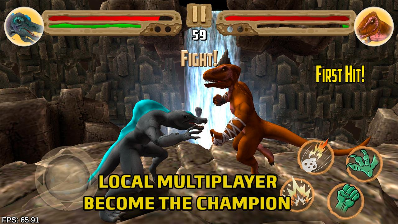 Dinosaurs fighters - Free fighting games 2.0 Screenshot 3