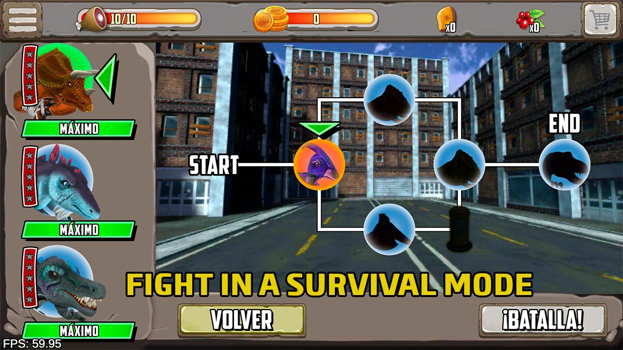 Dinosaurs fighters - Free fighting games 2.0 Screenshot 5