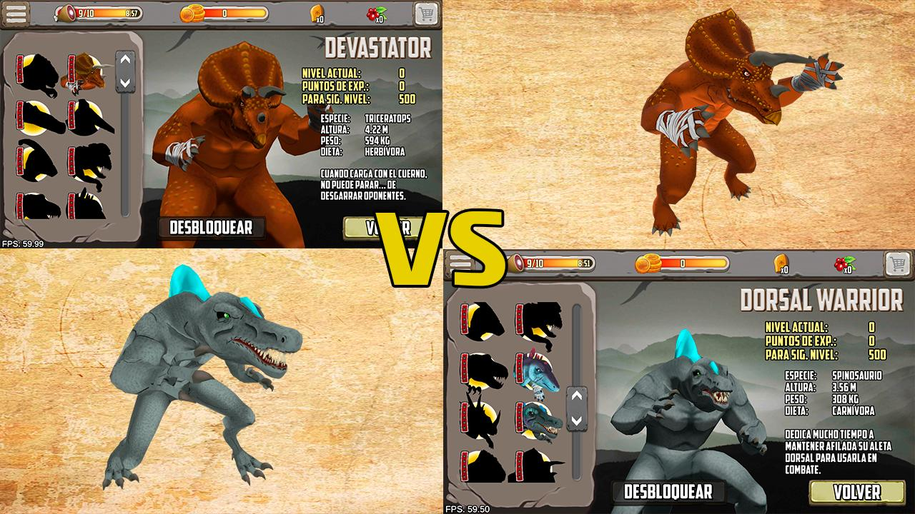 Dinosaurs fighters - Free fighting games 2.0 Screenshot 6