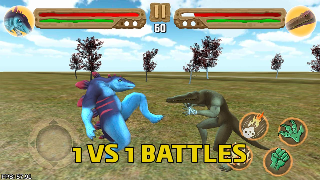 Dinosaurs fighters - Free fighting games 2.0 Screenshot 7