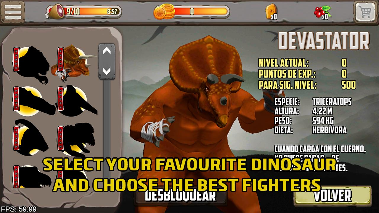 Dinosaurs fighters - Free fighting games 2.0 Screenshot 8