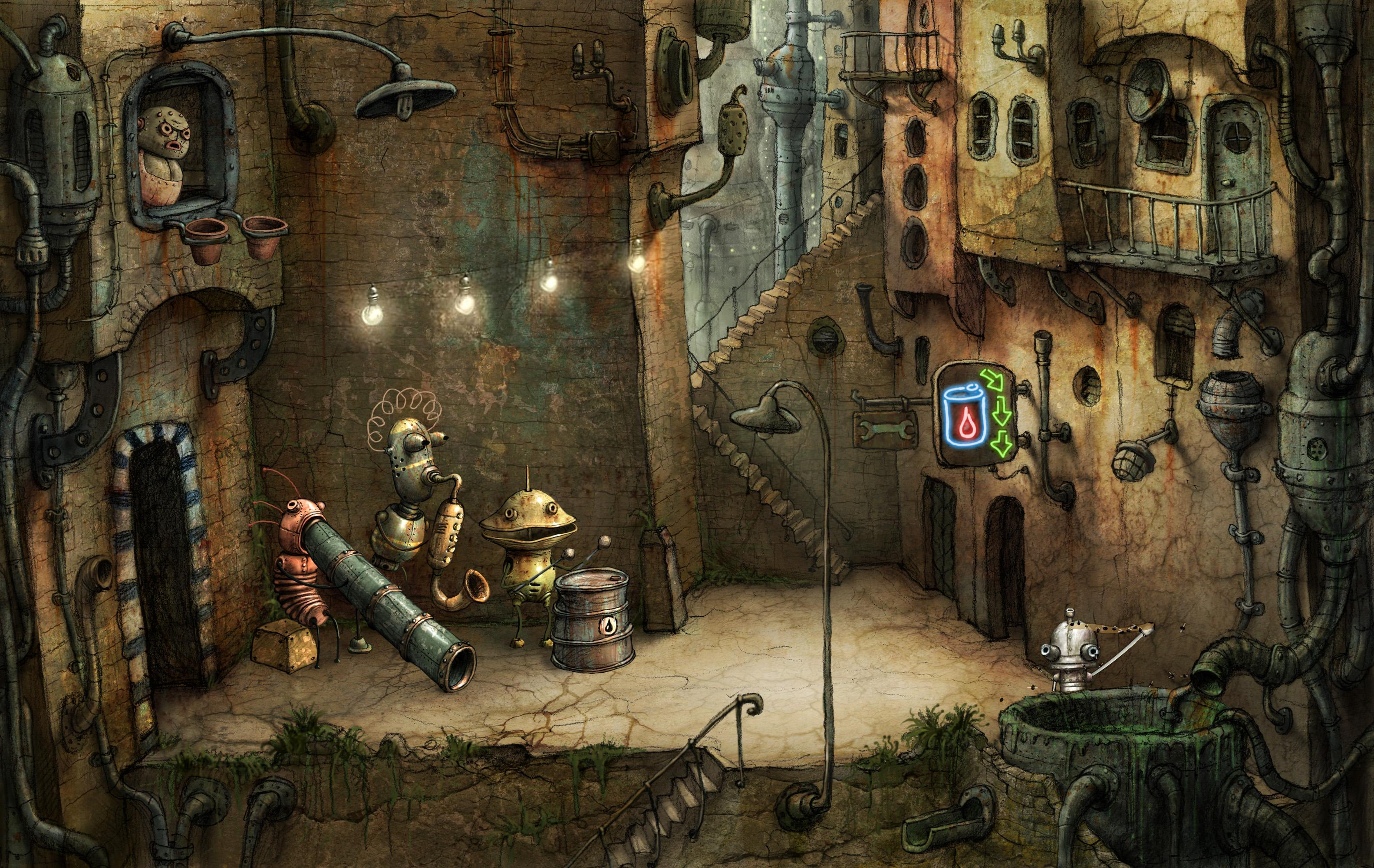 Machinarium Demo 2.6.9 Screenshot 2