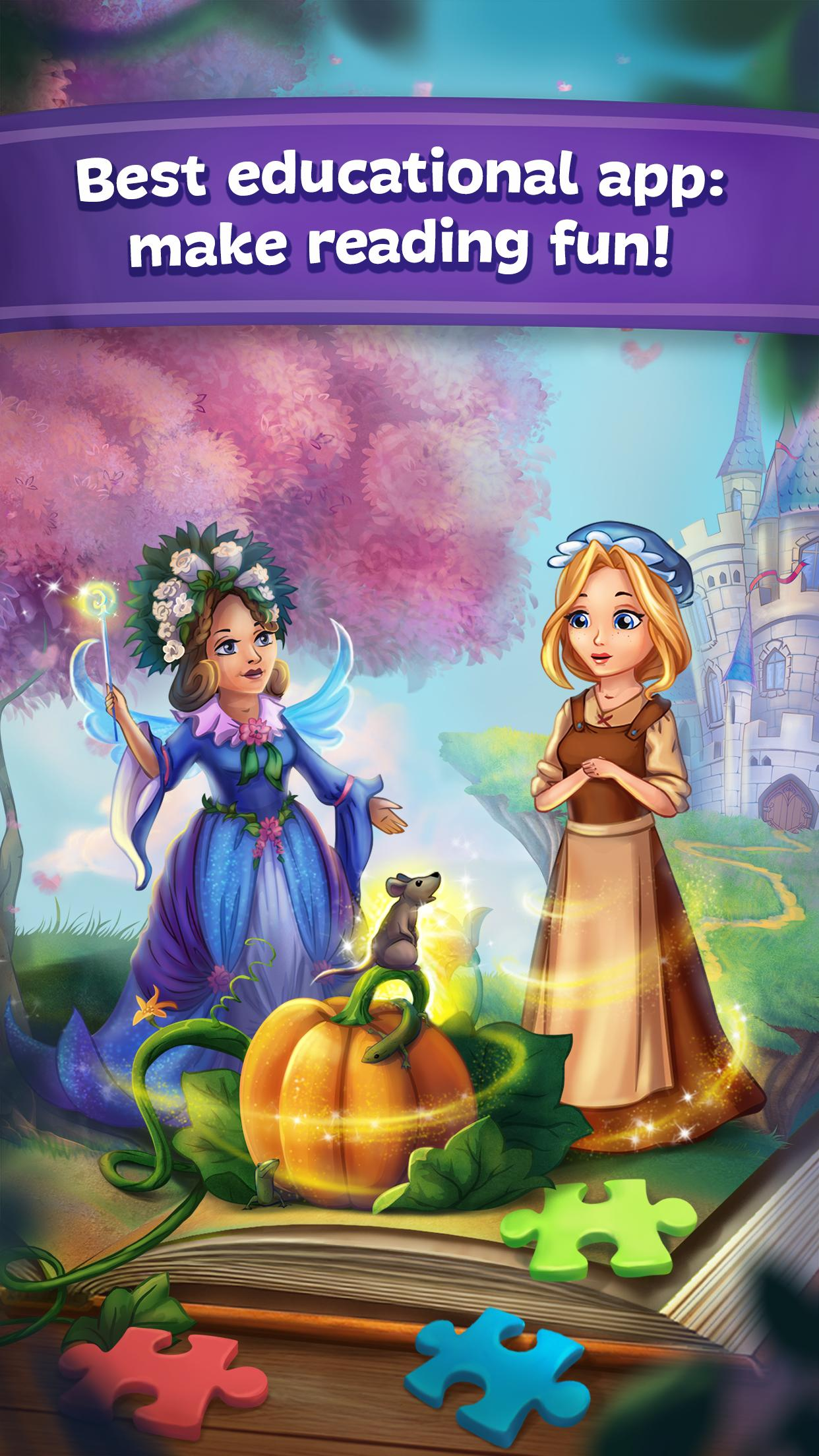 Fairy Tales Children's Books, Stories and Games 2.7.0 Screenshot 1