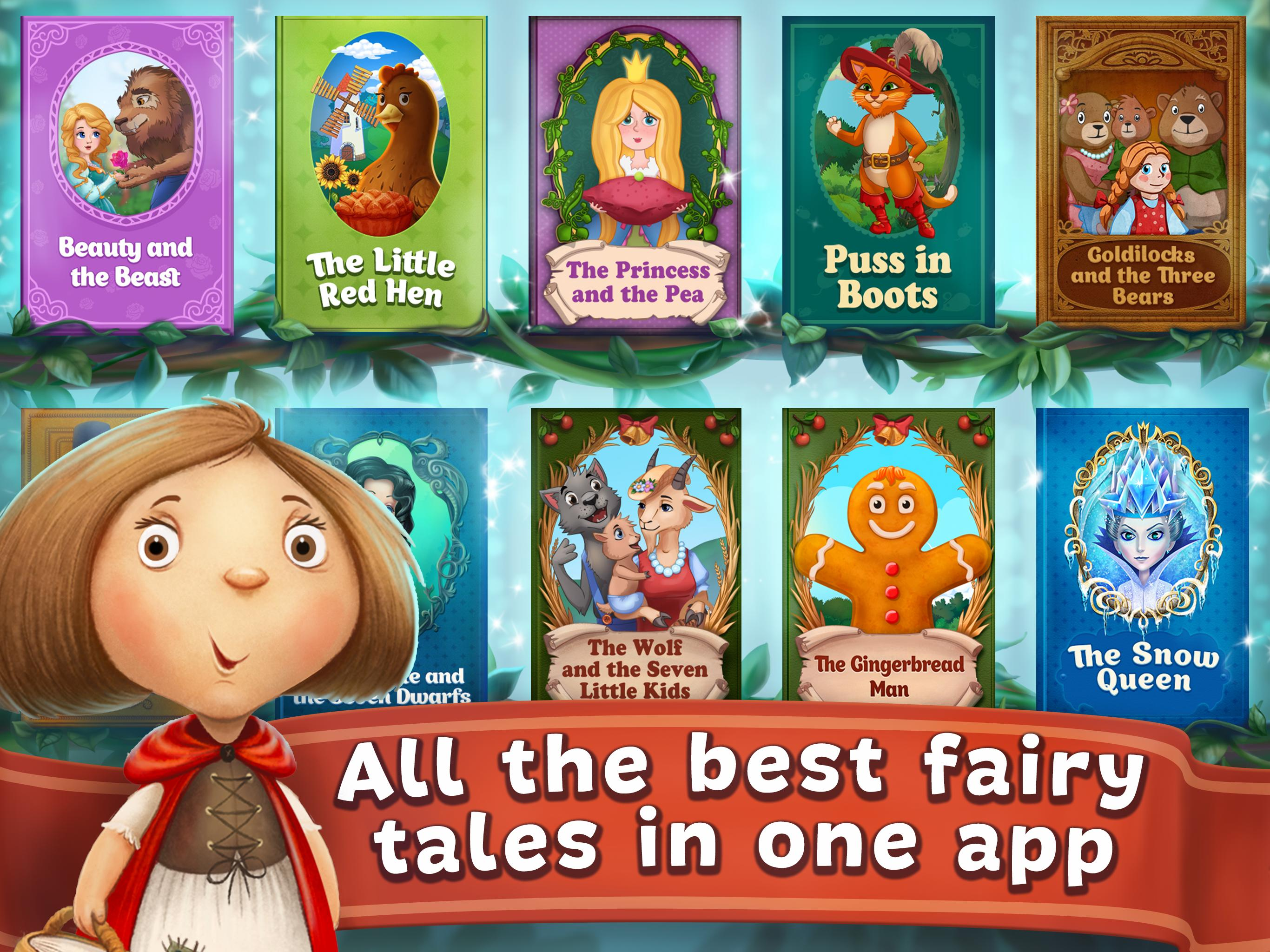 Fairy Tales Children's Books, Stories and Games 2.7.0 Screenshot 12