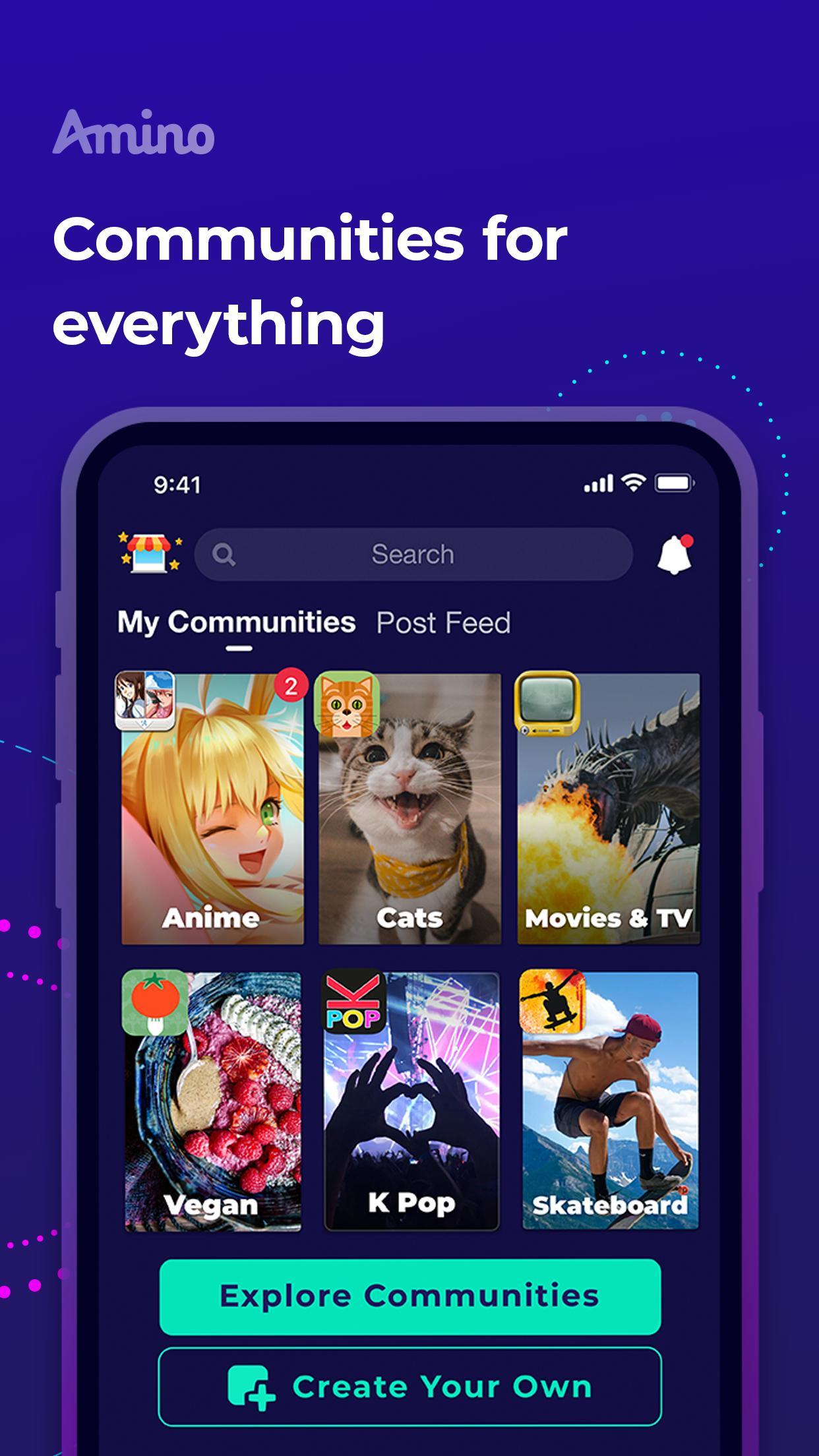 Amino Communities and Chats 3.0.32532 Screenshot 1