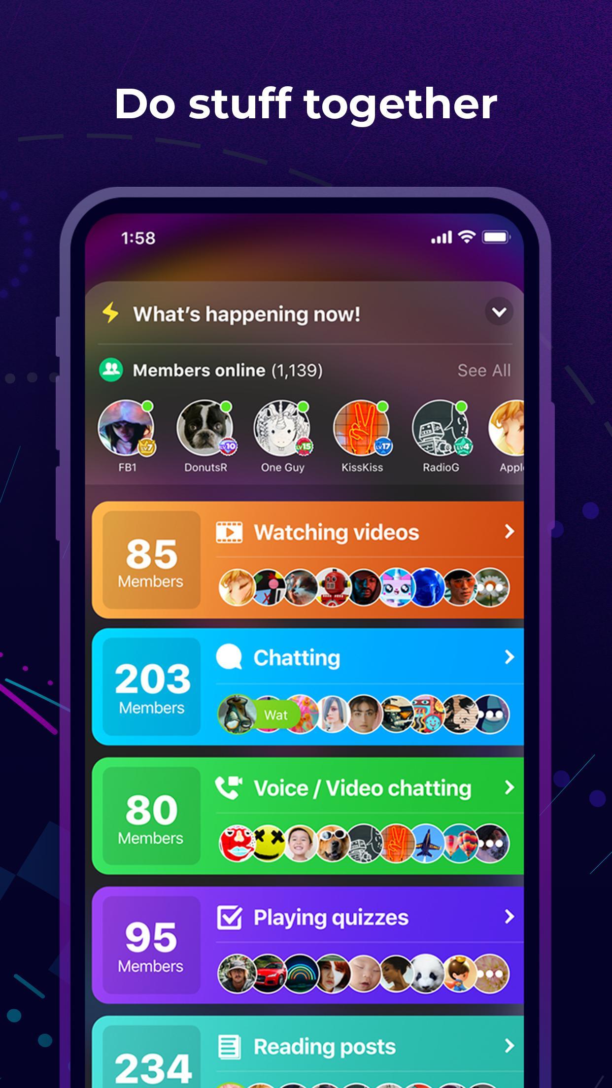 Amino Communities and Chats 3.0.32532 Screenshot 4