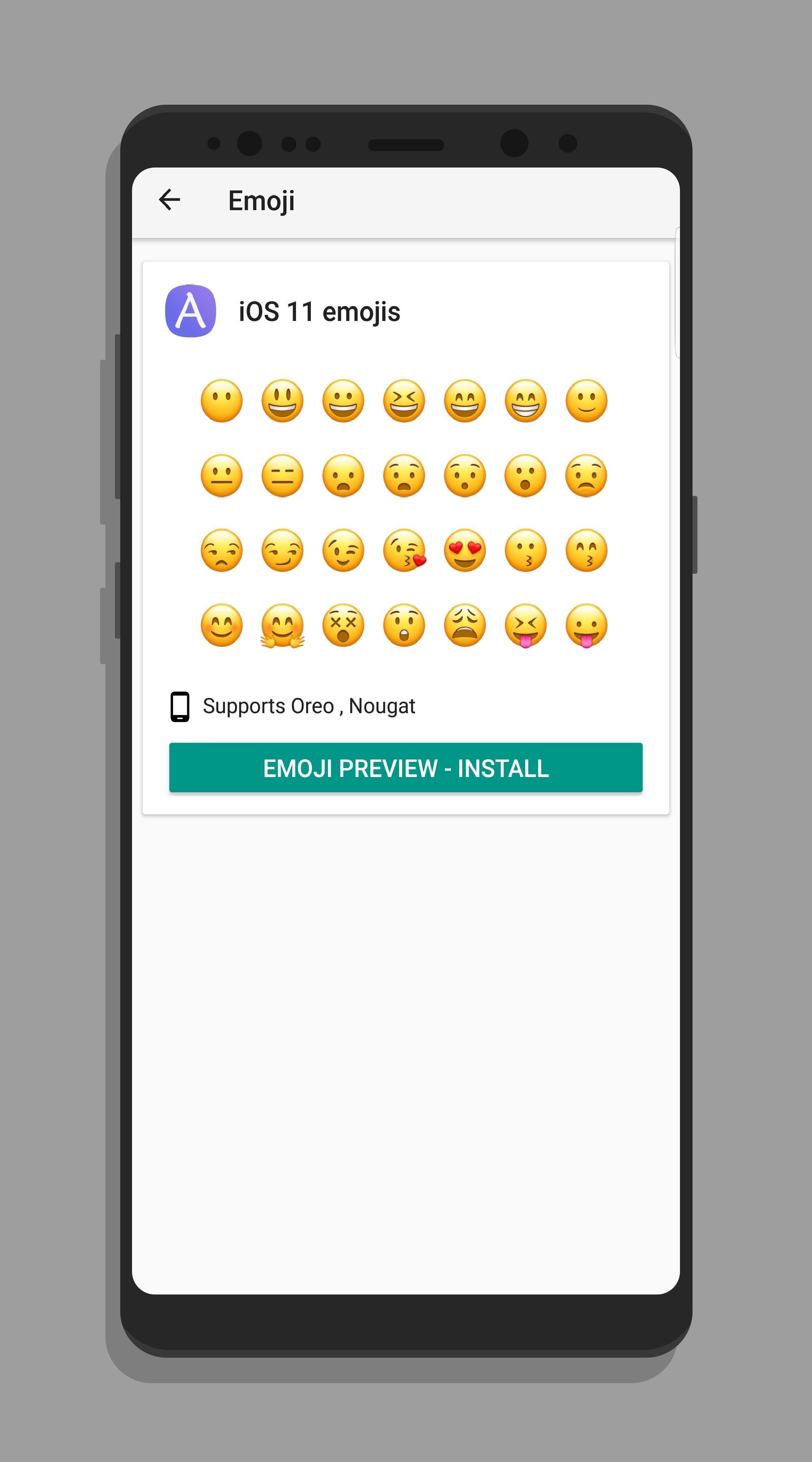 Fonts for Samsung (AFonts) 4.5 Screenshot 3