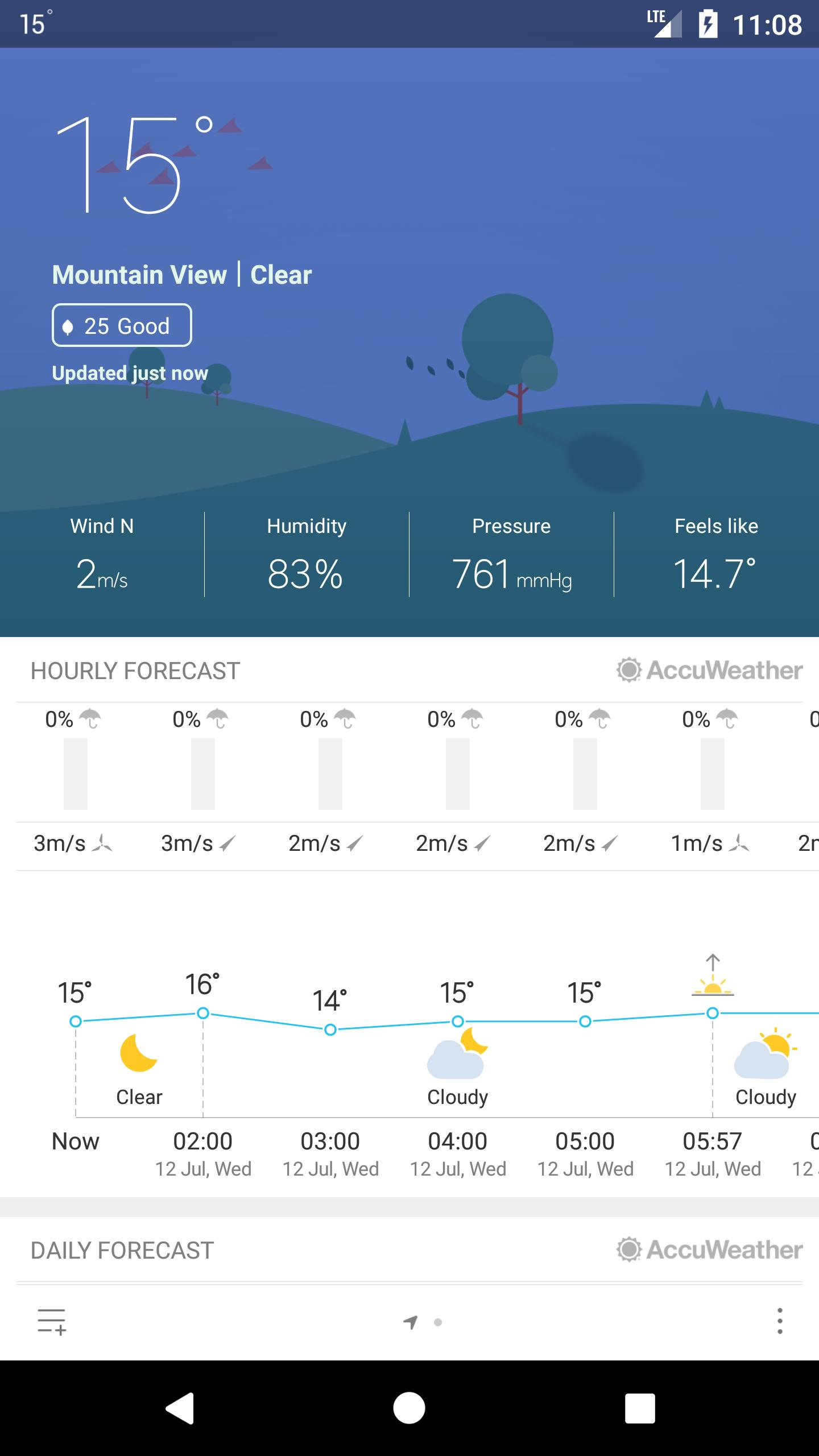 Weather Mate (Weather M8) 1.5.4 Screenshot 2