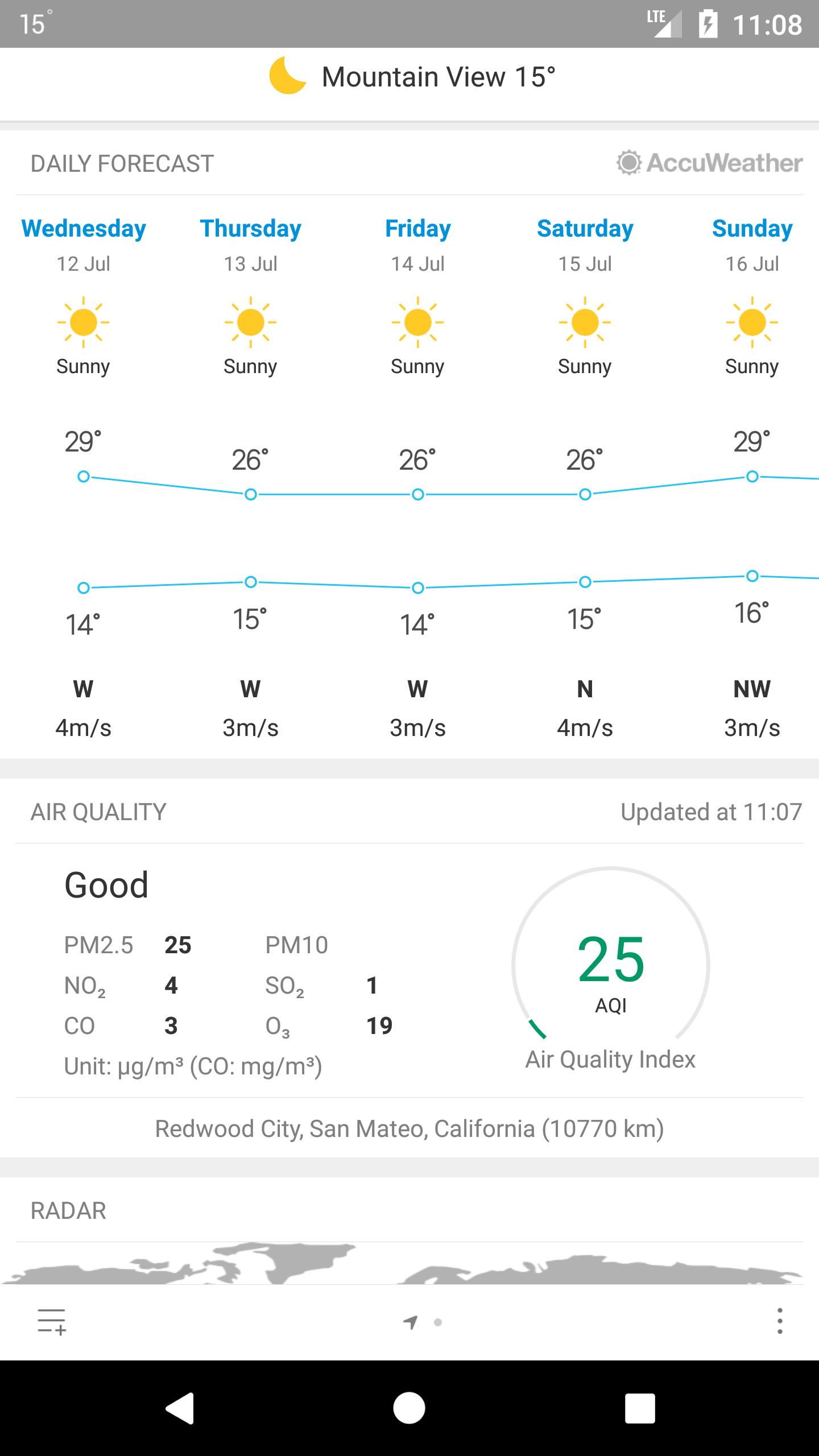 Weather Mate (Weather M8) 1.5.4 Screenshot 3