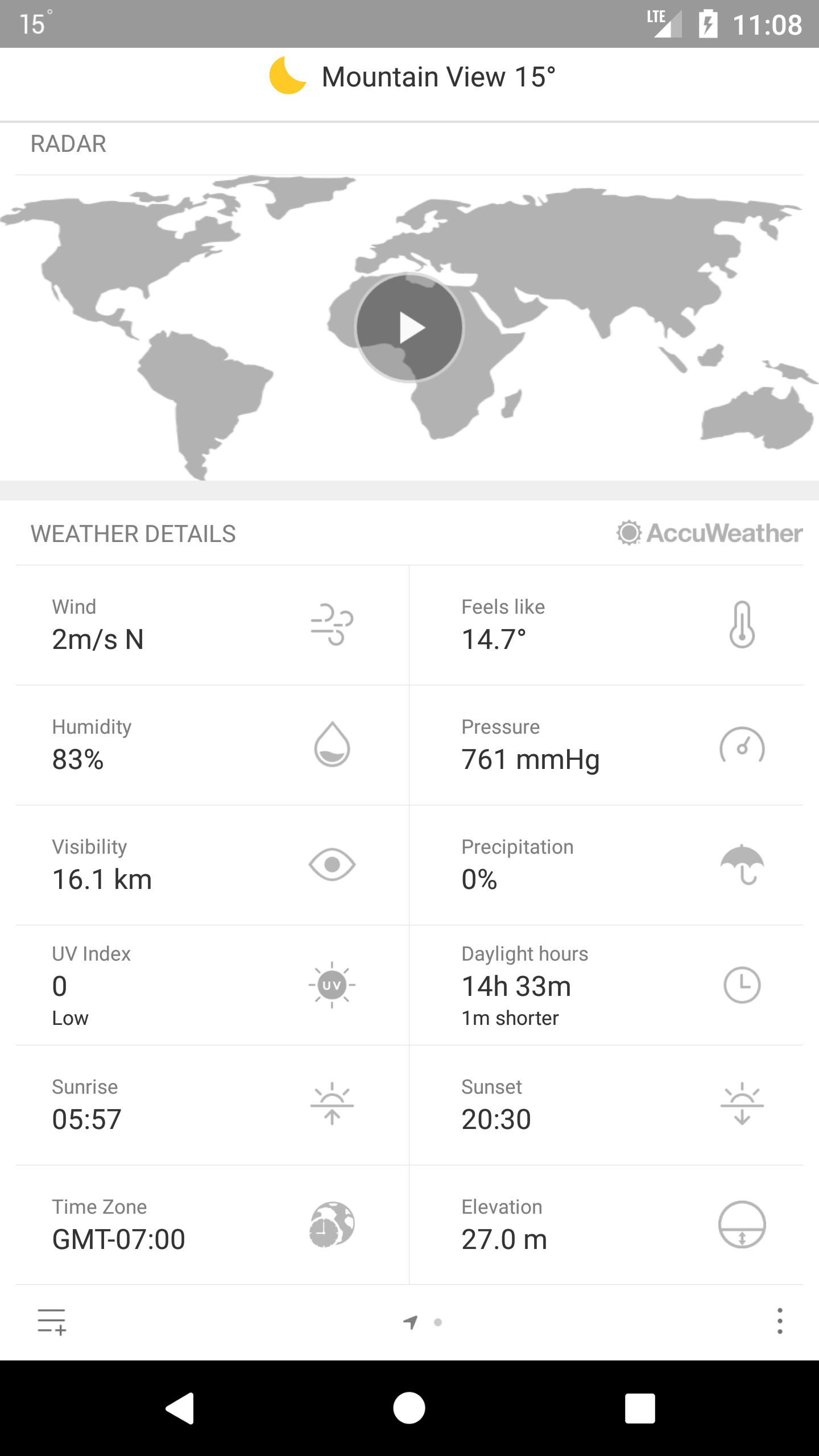 Weather Mate (Weather M8) 1.5.4 Screenshot 4