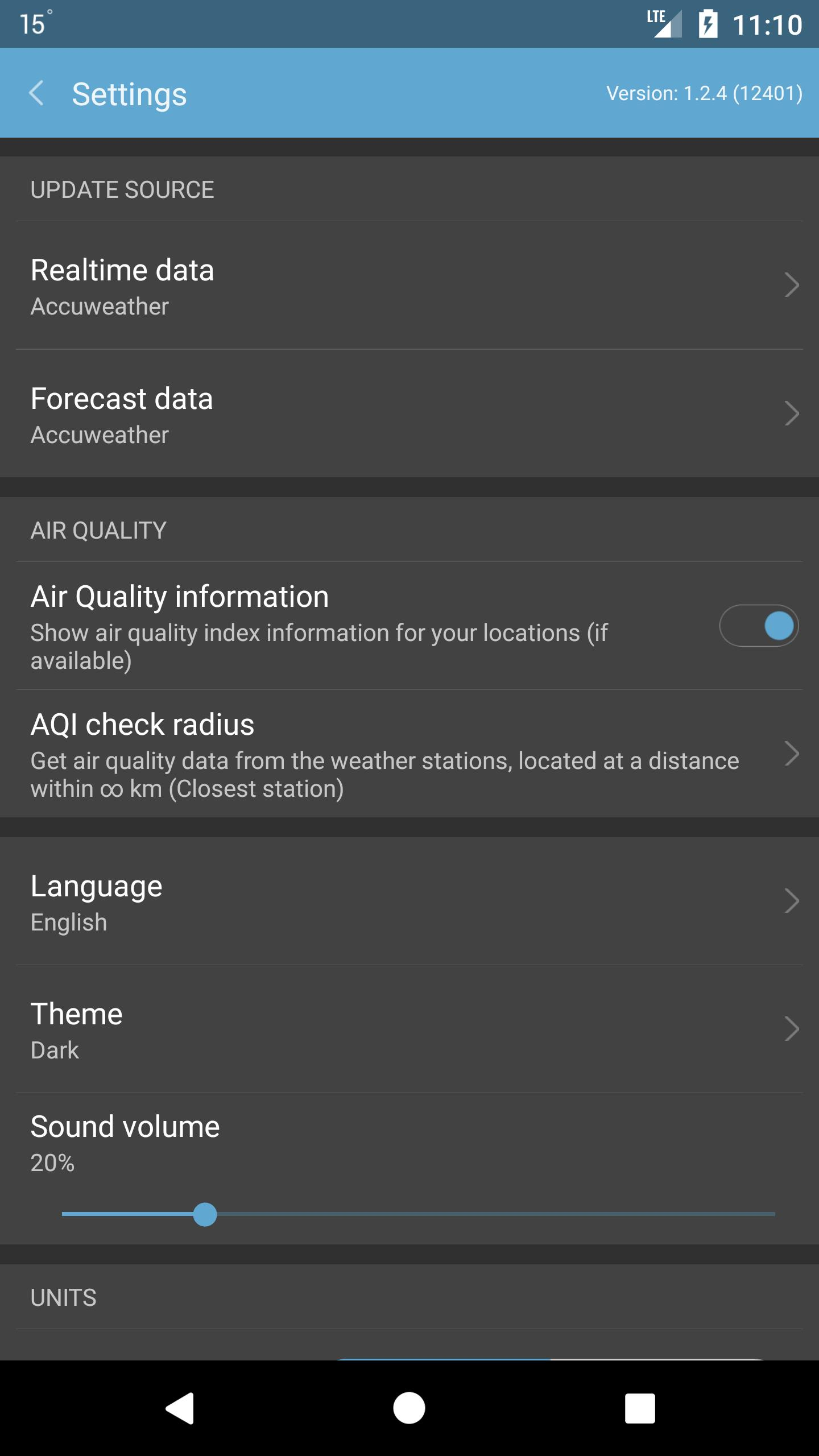 Weather Mate (Weather M8) 1.5.4 Screenshot 8