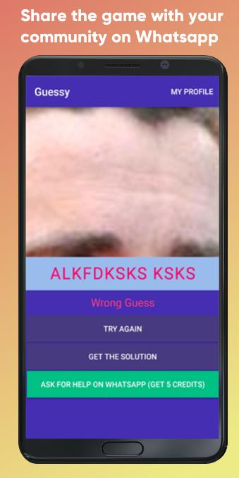 Guessy Guess celebrity actors singers athlete 1.4 Screenshot 5