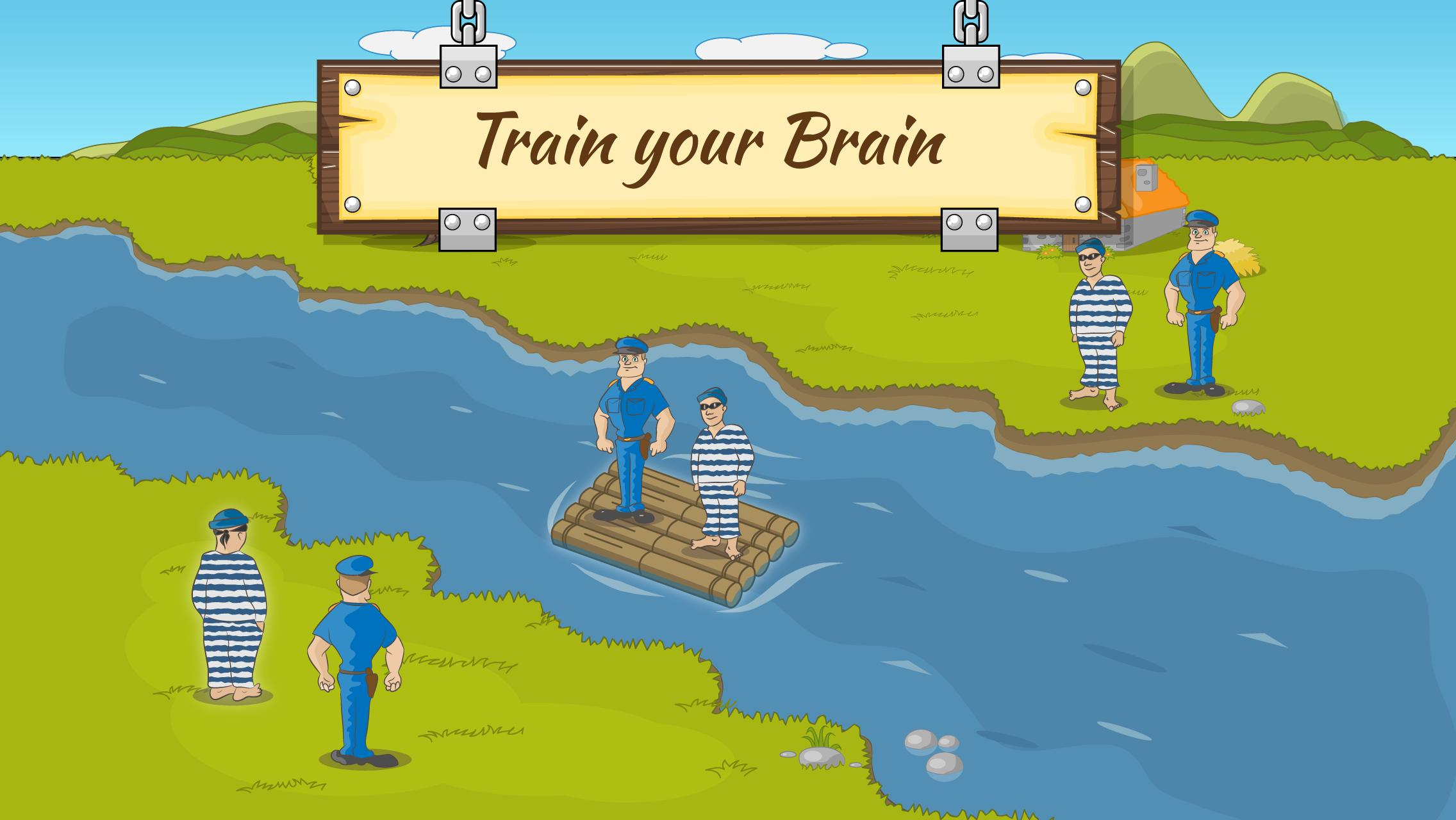 River Crossing IQ Logic Puzzles & Fun Brain Games 1.2.2 Screenshot 4