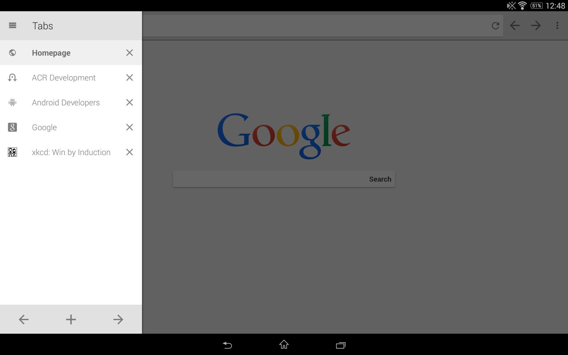 Lightning Browser - Web Browser 5.1.0 Screenshot 10