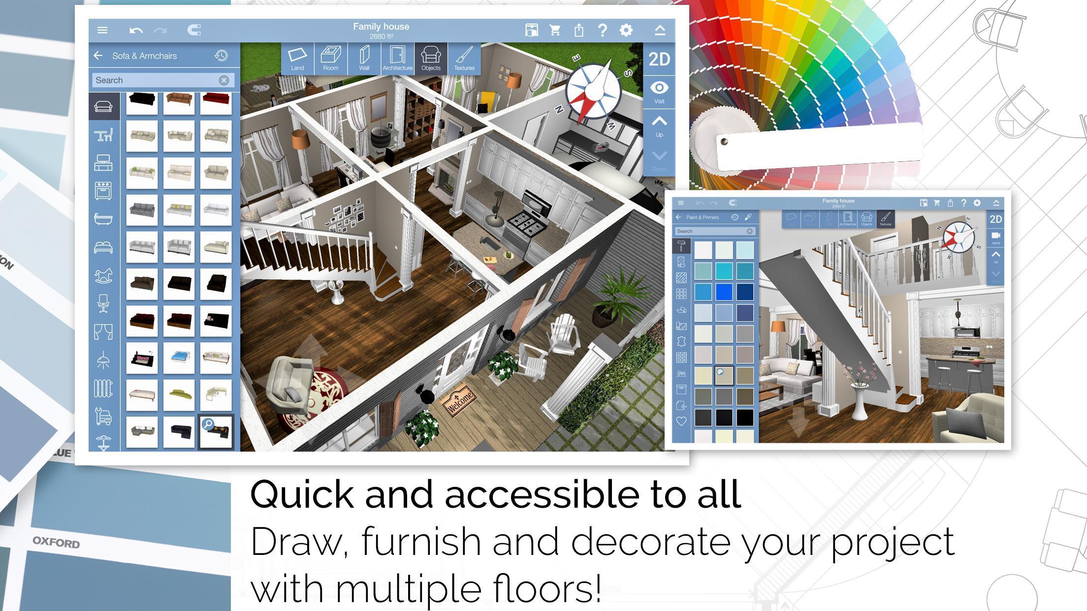 Home Design 3D 4.4.4 Screenshot 2