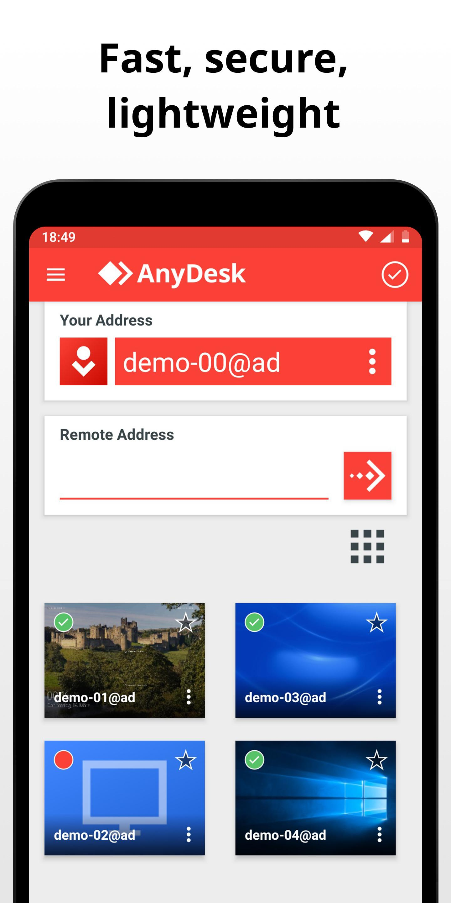AnyDesk Remote Control 6.1.2 Screenshot 2