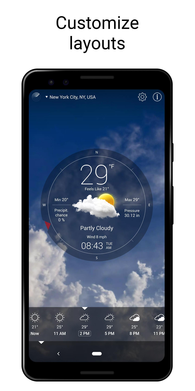 Weather Live 6.23 Screenshot 1