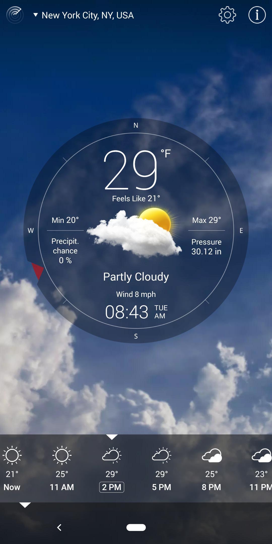 Weather Live 6.23 Screenshot 8