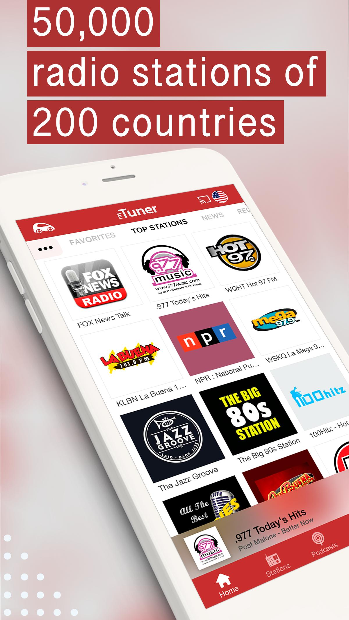 myTuner Radio App: FM Radio + Internet Radio 7.9.56 Screenshot 1