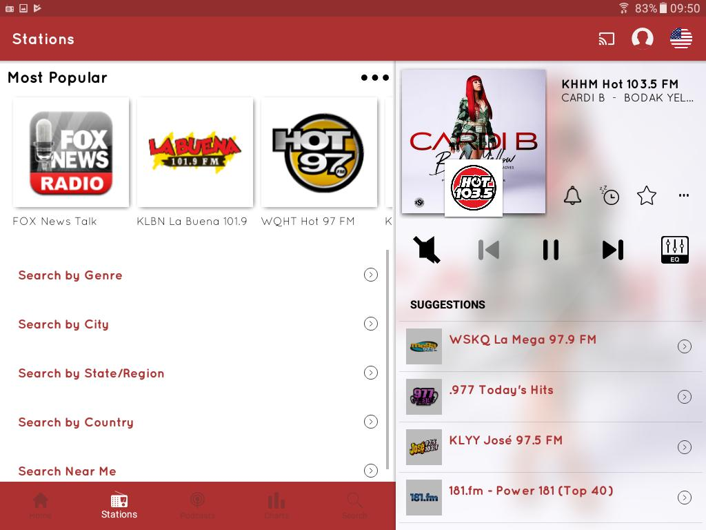 myTuner Radio App: FM Radio + Internet Radio 7.9.56 Screenshot 10