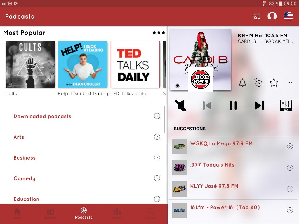 myTuner Radio App: FM Radio + Internet Radio 7.9.56 Screenshot 13