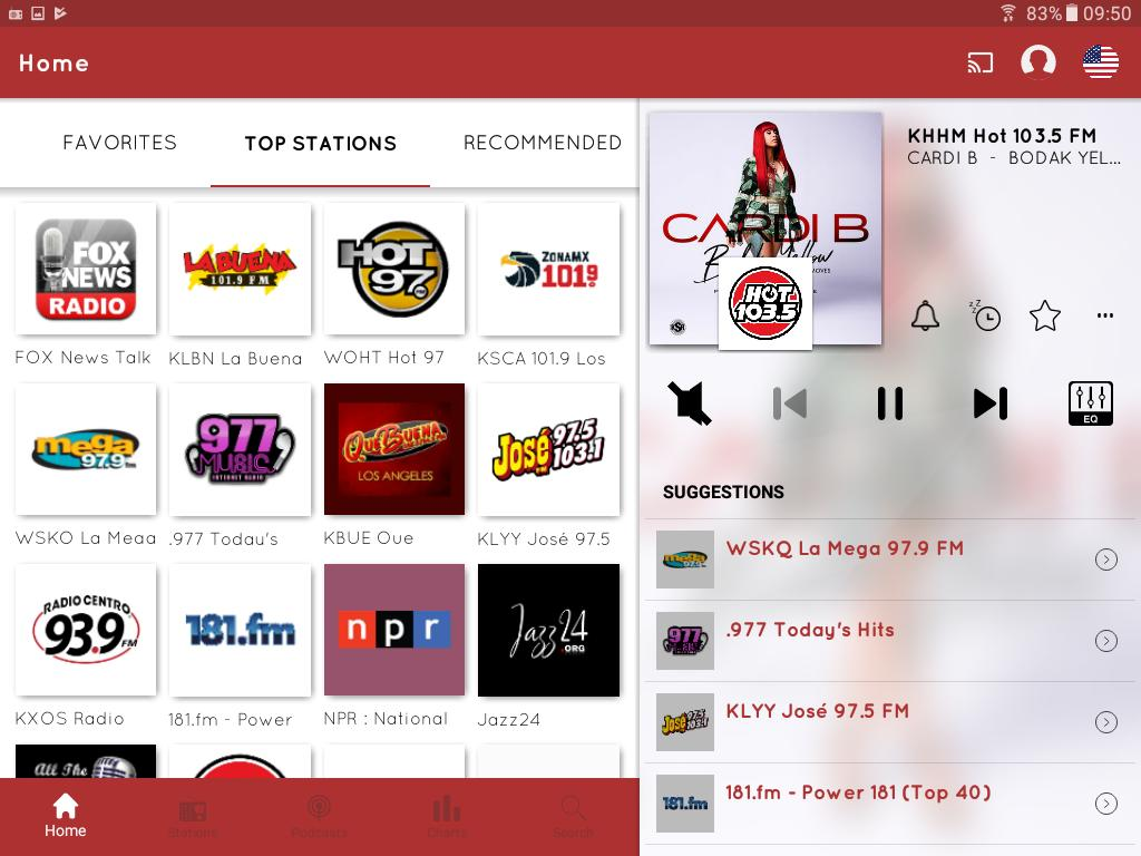 myTuner Radio App: FM Radio + Internet Radio 7.9.56 Screenshot 9