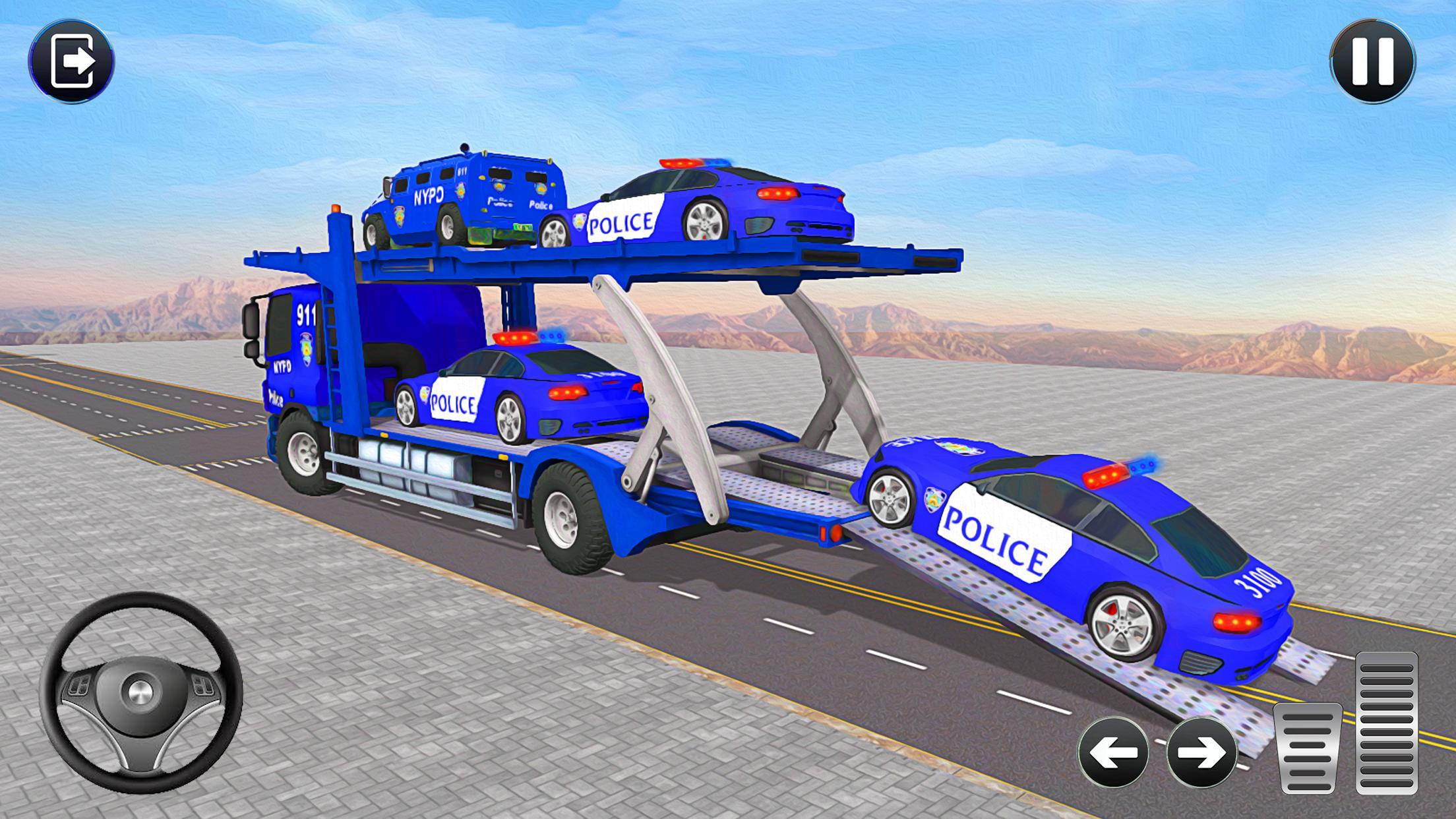 Grand Police Transport Truck 1.7 Screenshot 1