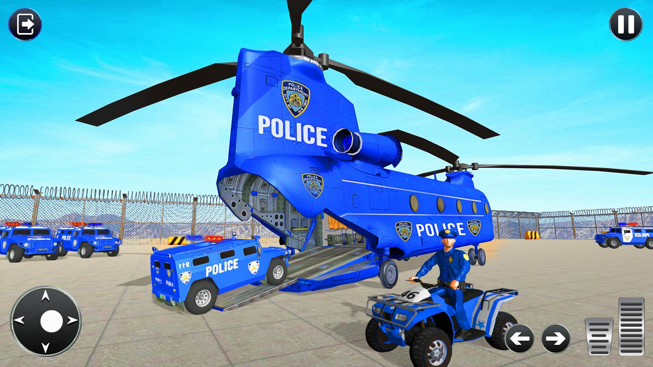 Grand Police Transport Truck 1.7 Screenshot 11
