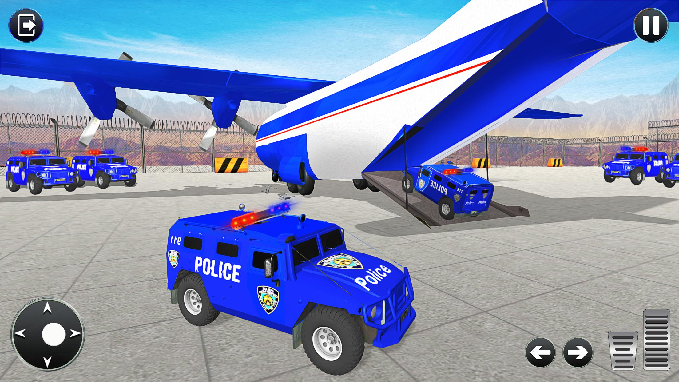 Grand Police Transport Truck 1.7 Screenshot 12