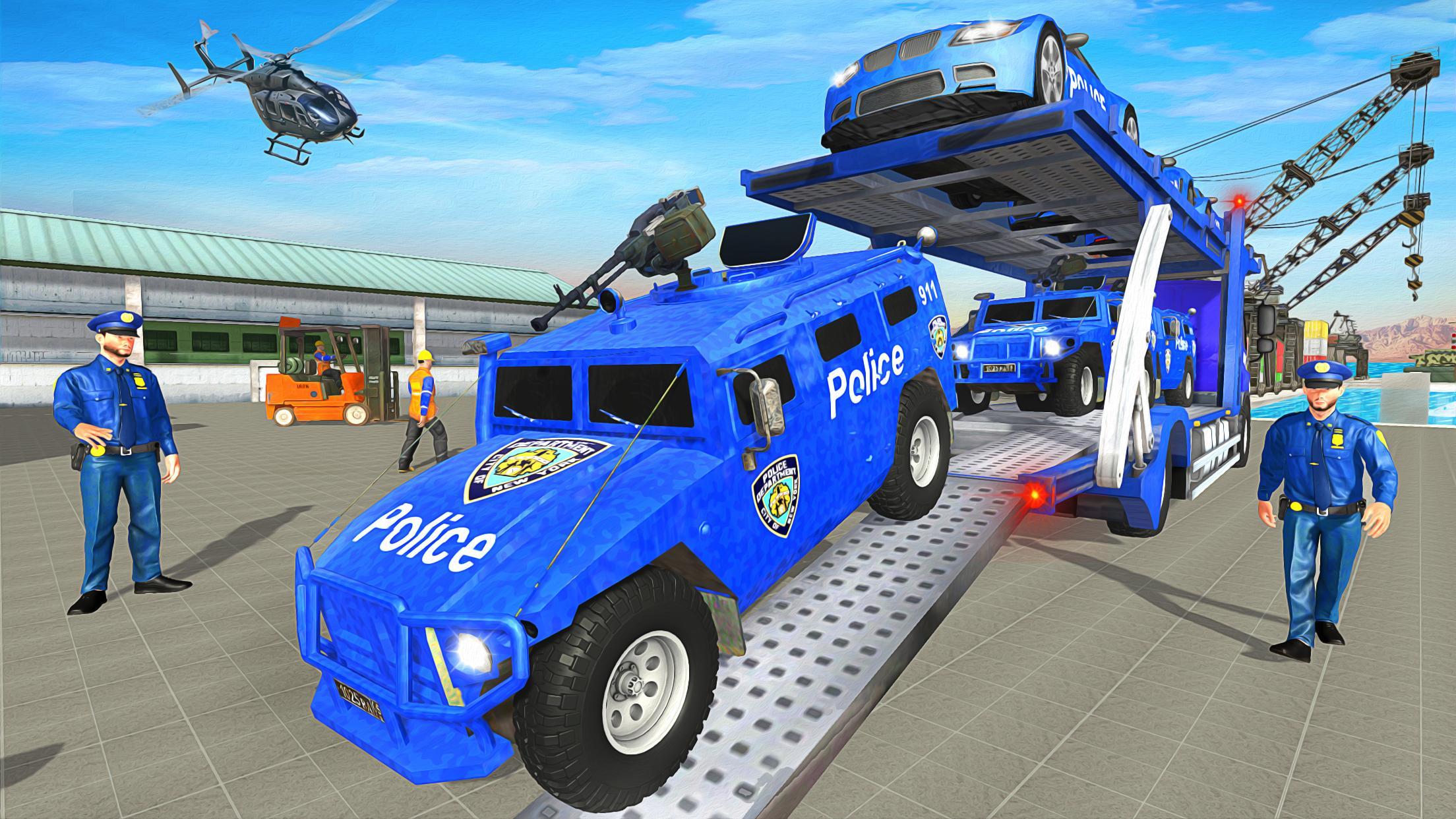 Grand Police Transport Truck 1.7 Screenshot 14