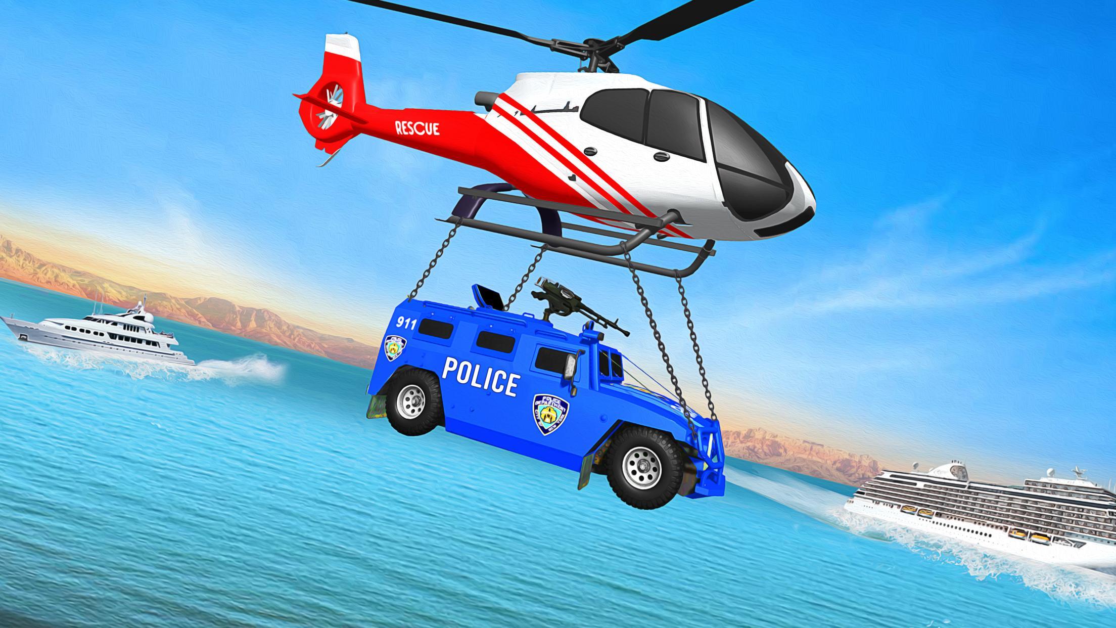 Grand Police Transport Truck 1.7 Screenshot 5