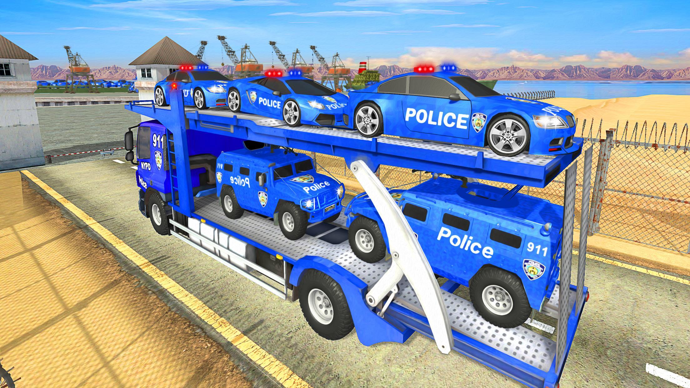 Grand Police Transport Truck 1.7 Screenshot 8