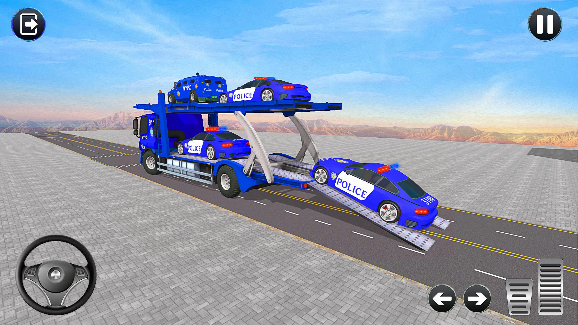 Grand Police Transport Truck 1.7 Screenshot 9