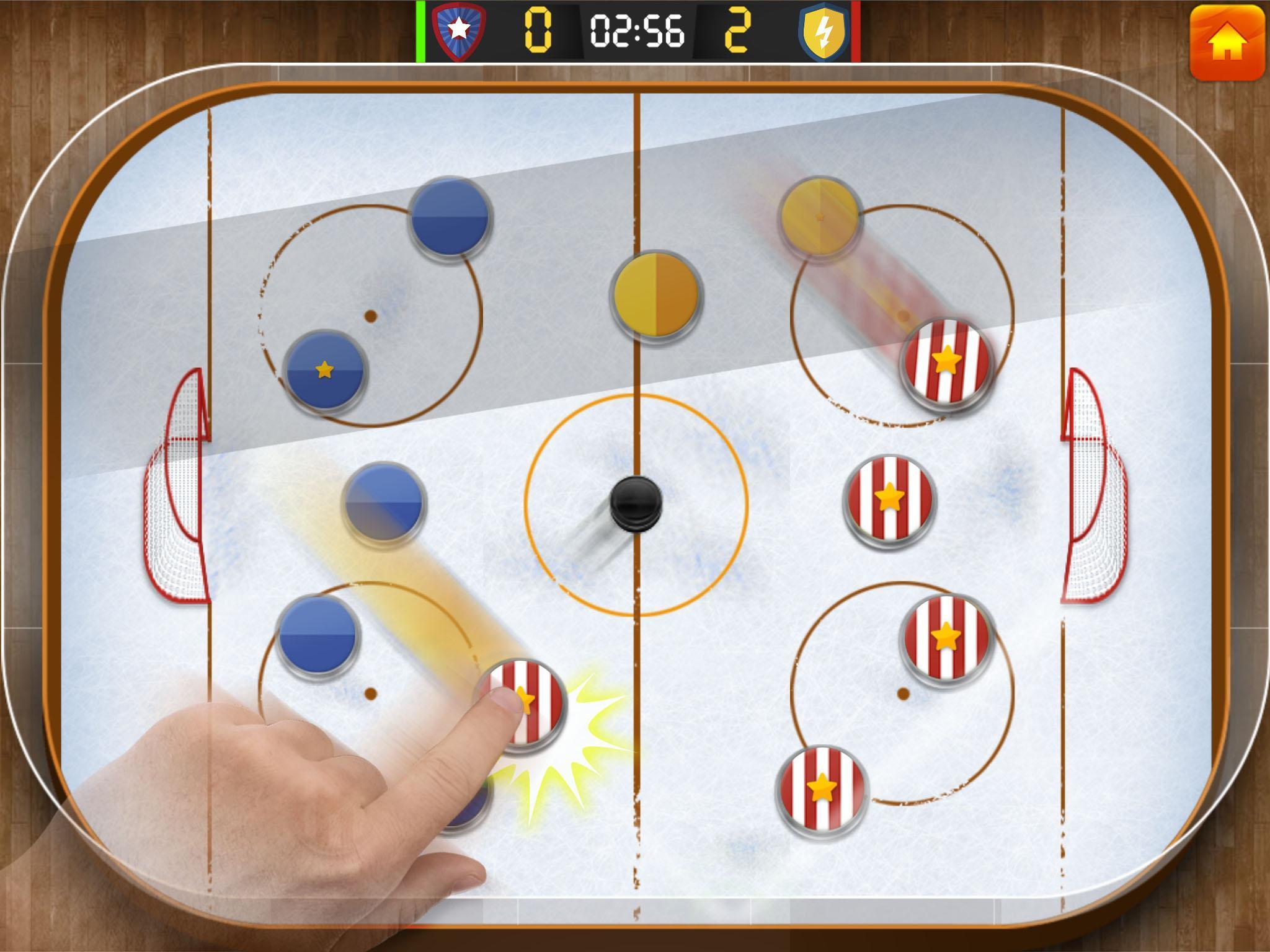 Ice Hockey League FREE 2.1 Screenshot 1