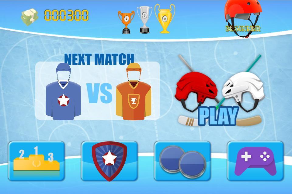 Ice Hockey League FREE 2.1 Screenshot 2