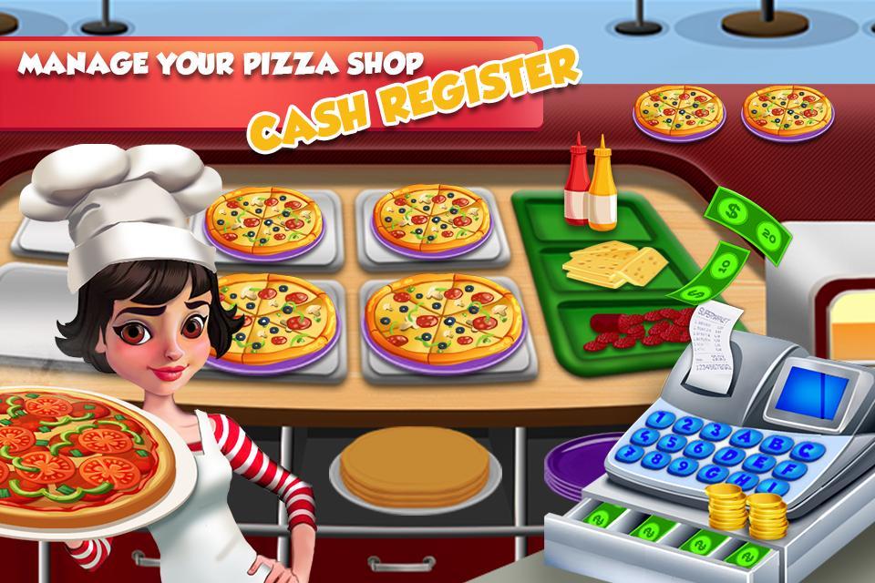 Pizza Maker Restaurant Cash Register: Cooking Game 1.0.4 Screenshot 2