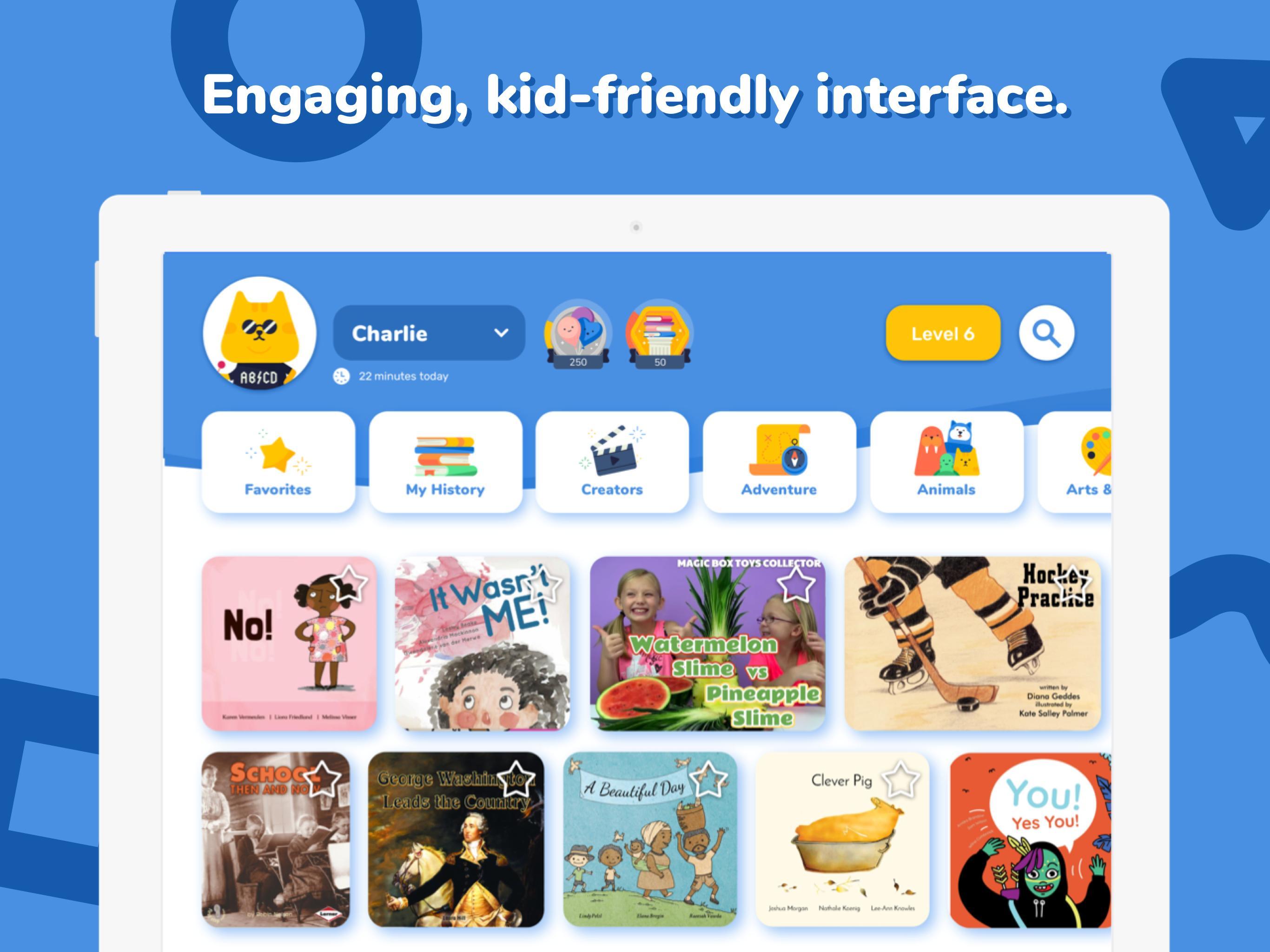 Rivet Better Reading Practice For Kids 1.1.35 Screenshot 3