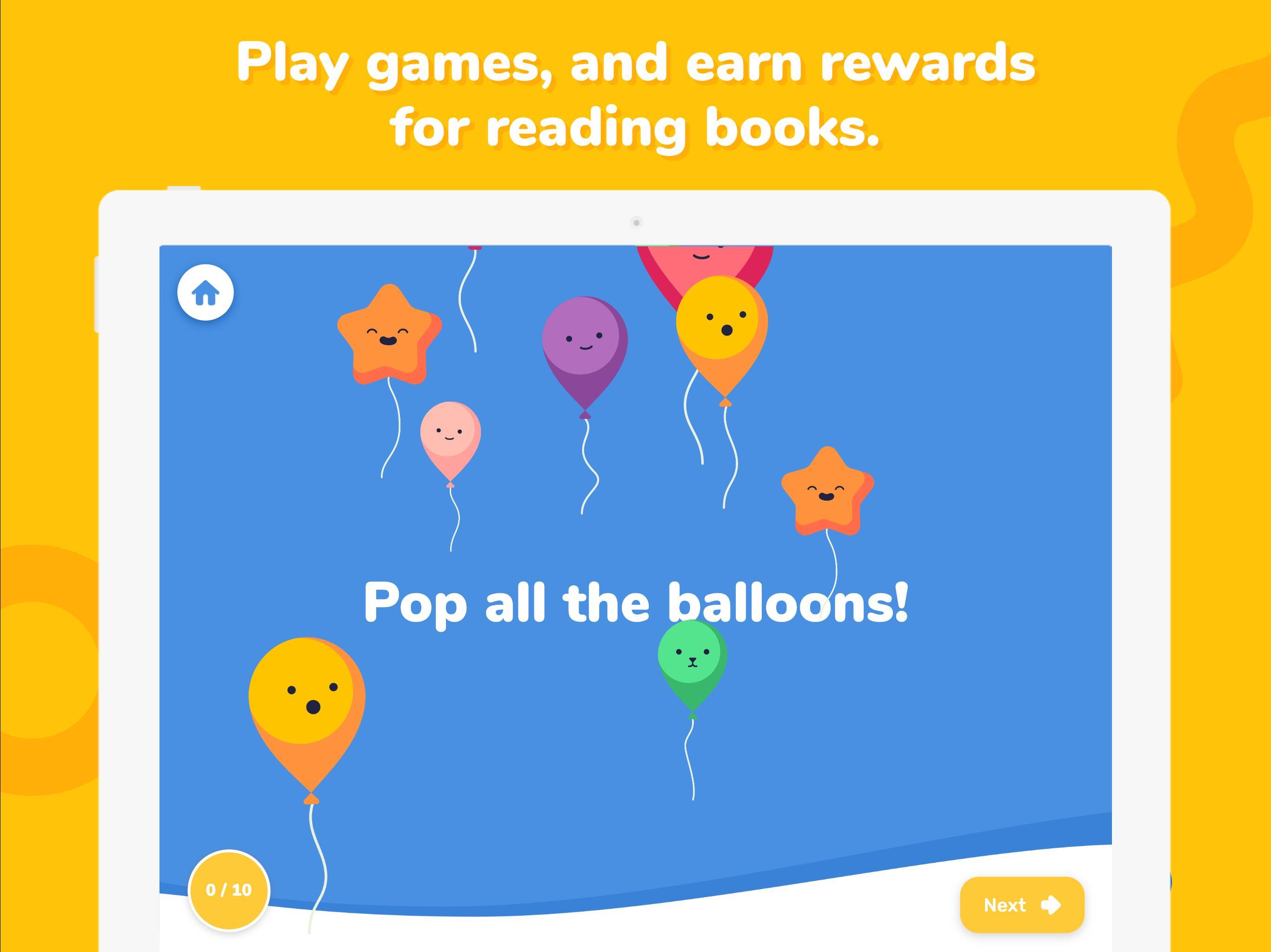 Rivet Better Reading Practice For Kids 1.1.35 Screenshot 5