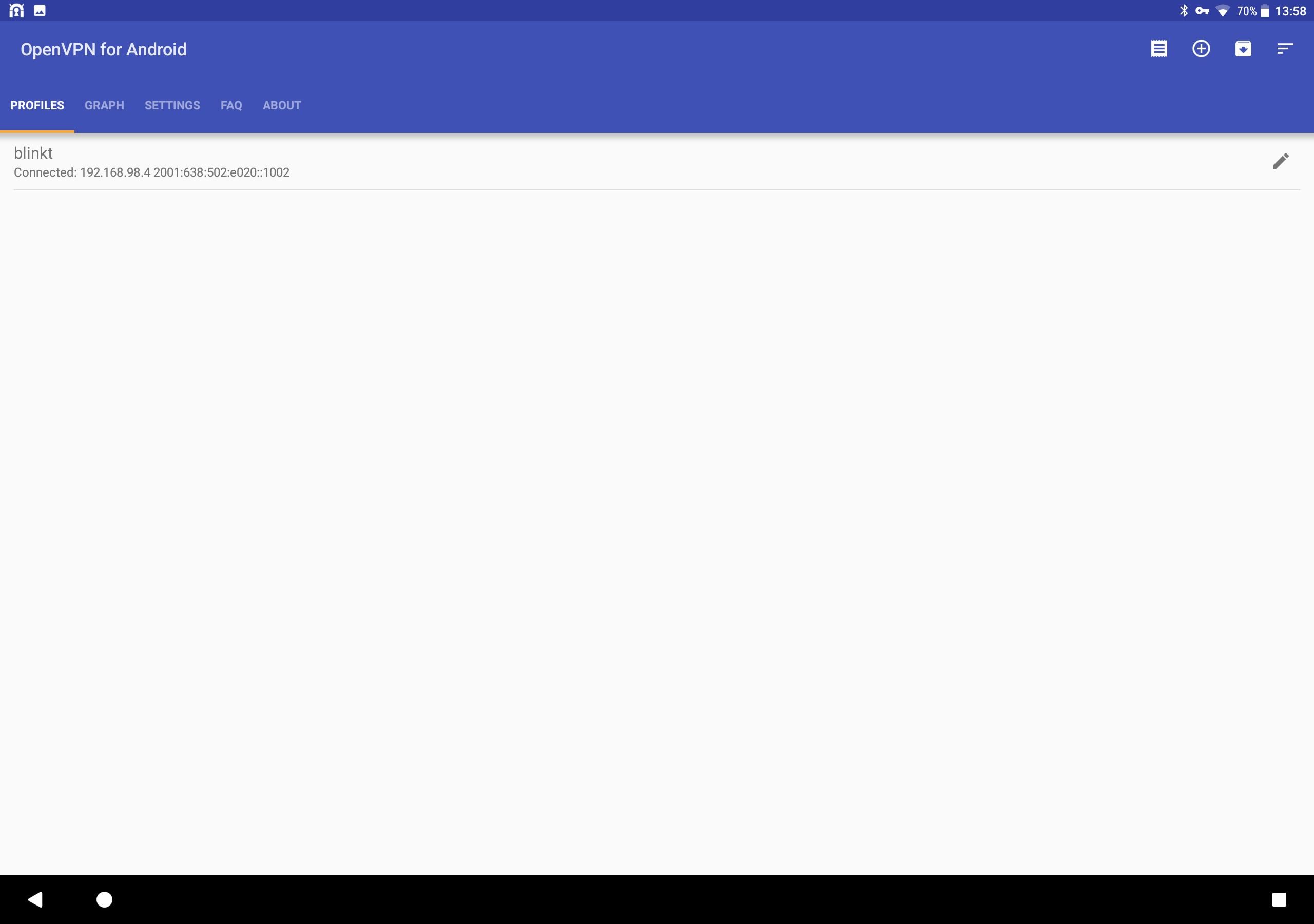 OpenVPN for Android 0.7.8 Screenshot 10