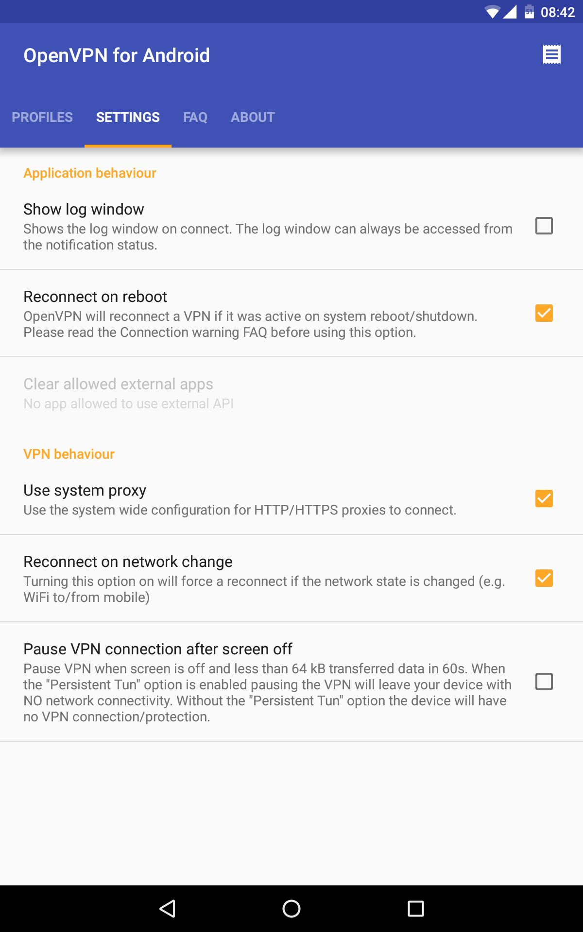 OpenVPN for Android 0.7.8 Screenshot 15