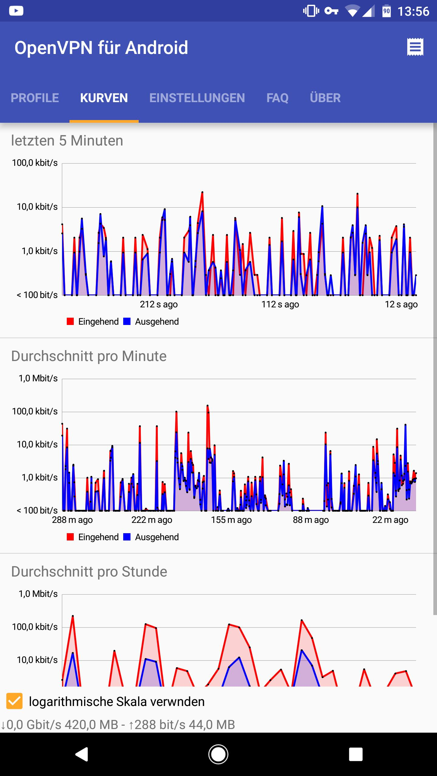 OpenVPN for Android 0.7.8 Screenshot 2