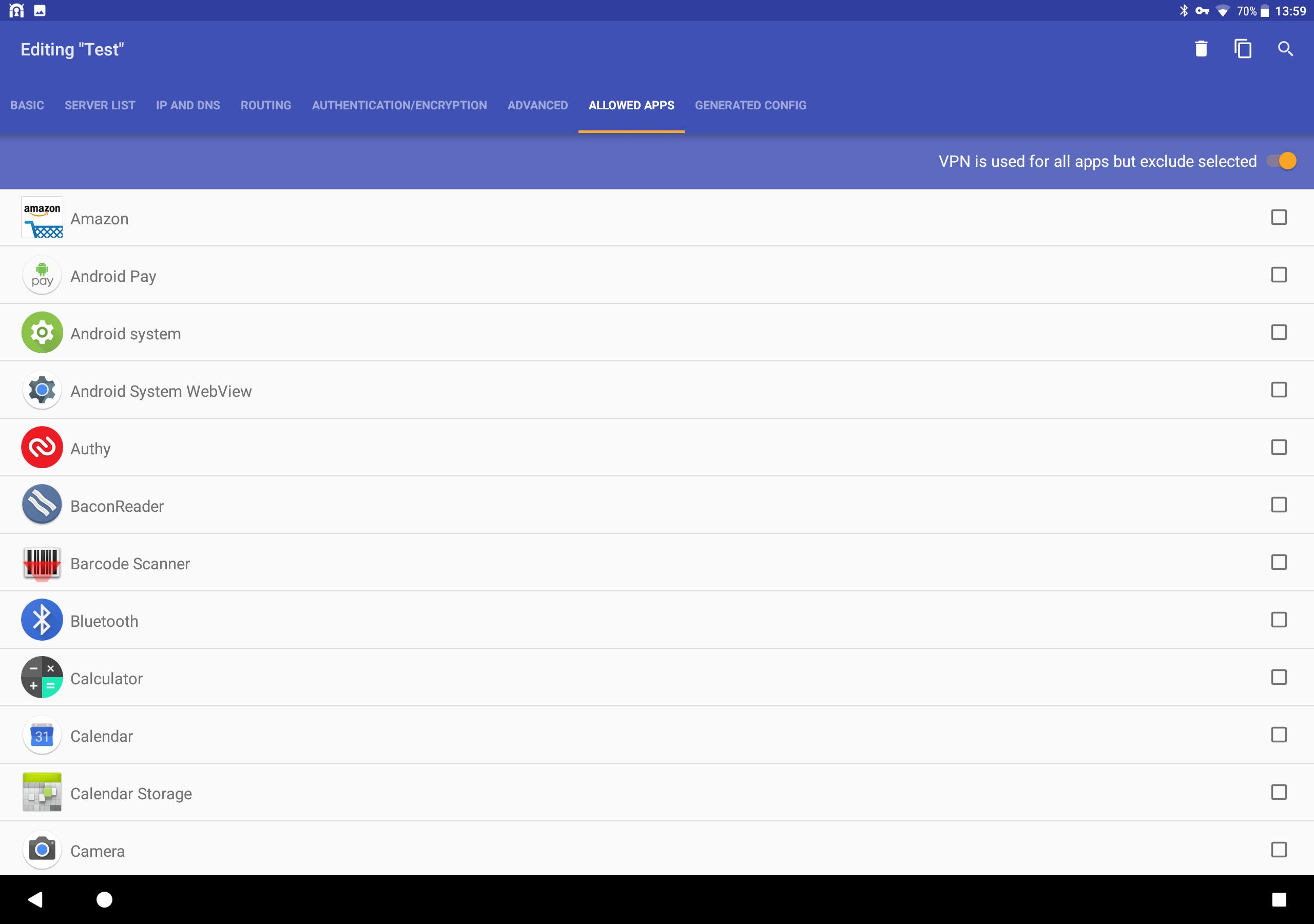 OpenVPN for Android 0.7.8 Screenshot 8