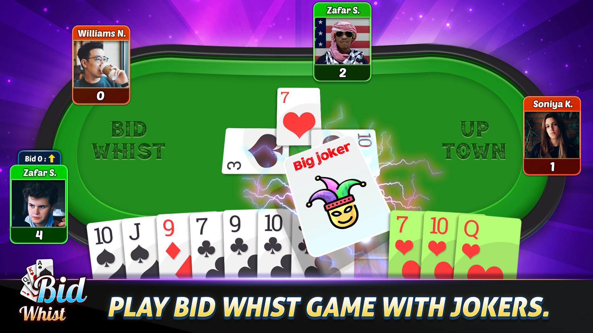 Bid Whist Free – Classic Whist 2 Player Card Game 11.3 Screenshot 11