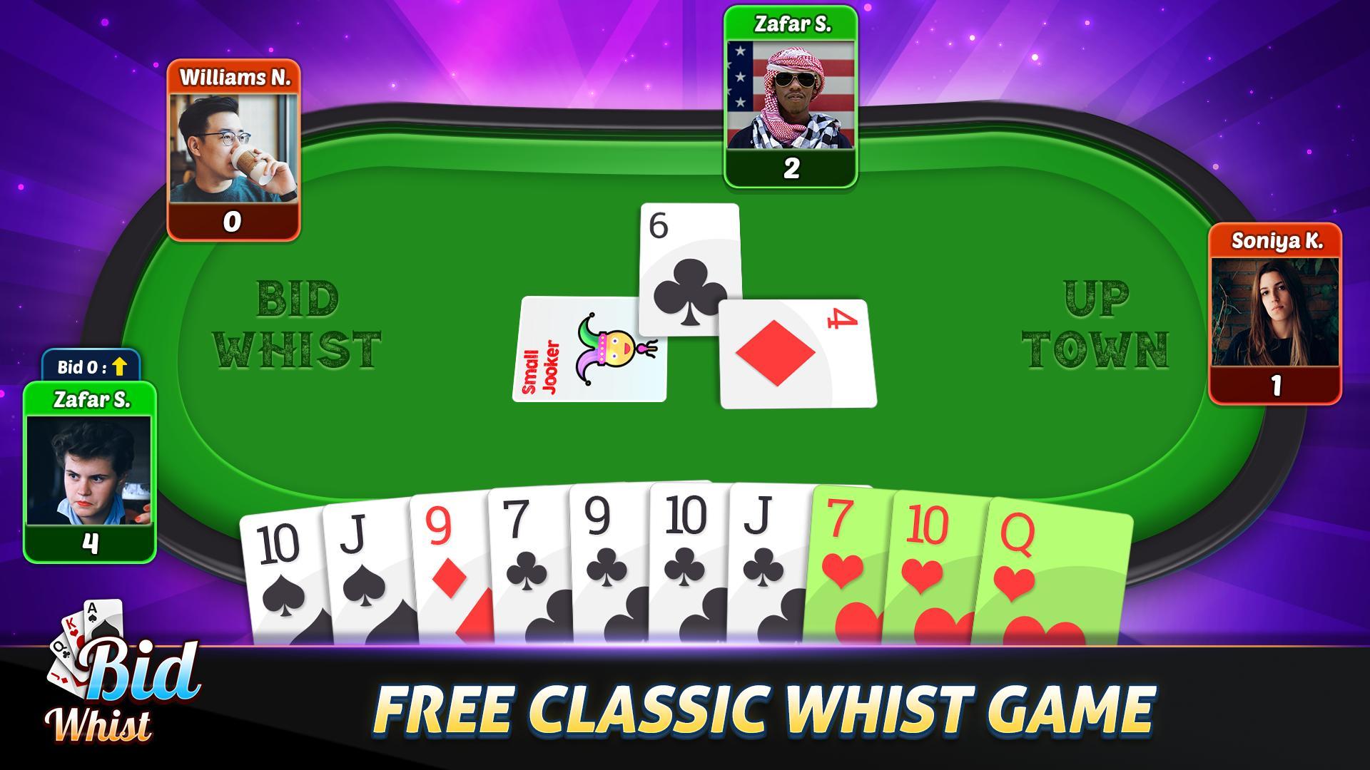 Bid Whist Free – Classic Whist 2 Player Card Game 11.3 Screenshot 12