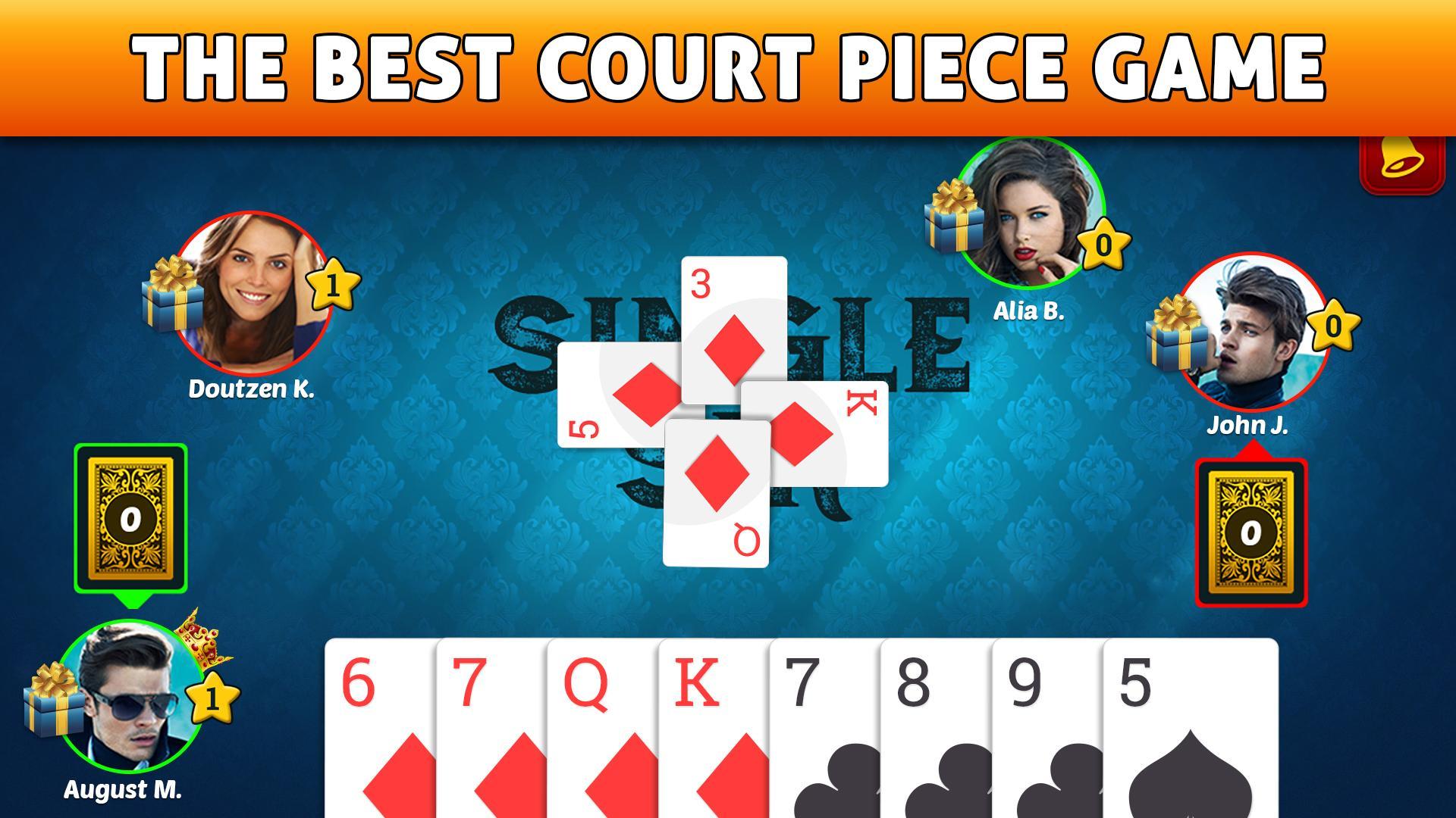 Court Piece My Rung & HOKM 6.1 Screenshot 1