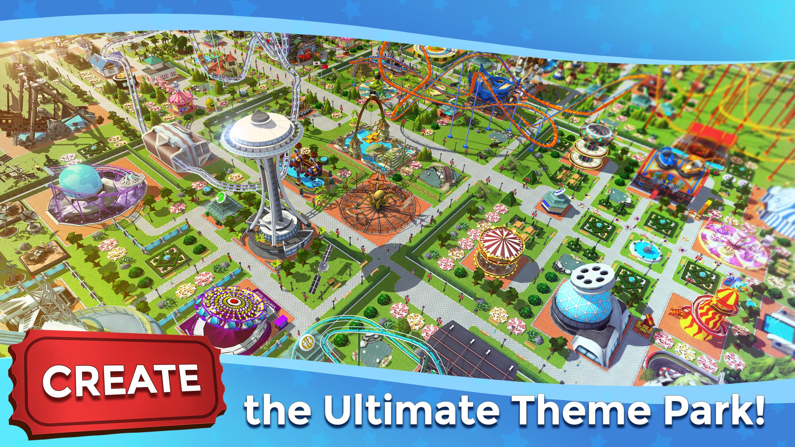 RollerCoaster Tycoon Touch - Build your Theme Park 3.5.0 Screenshot 1