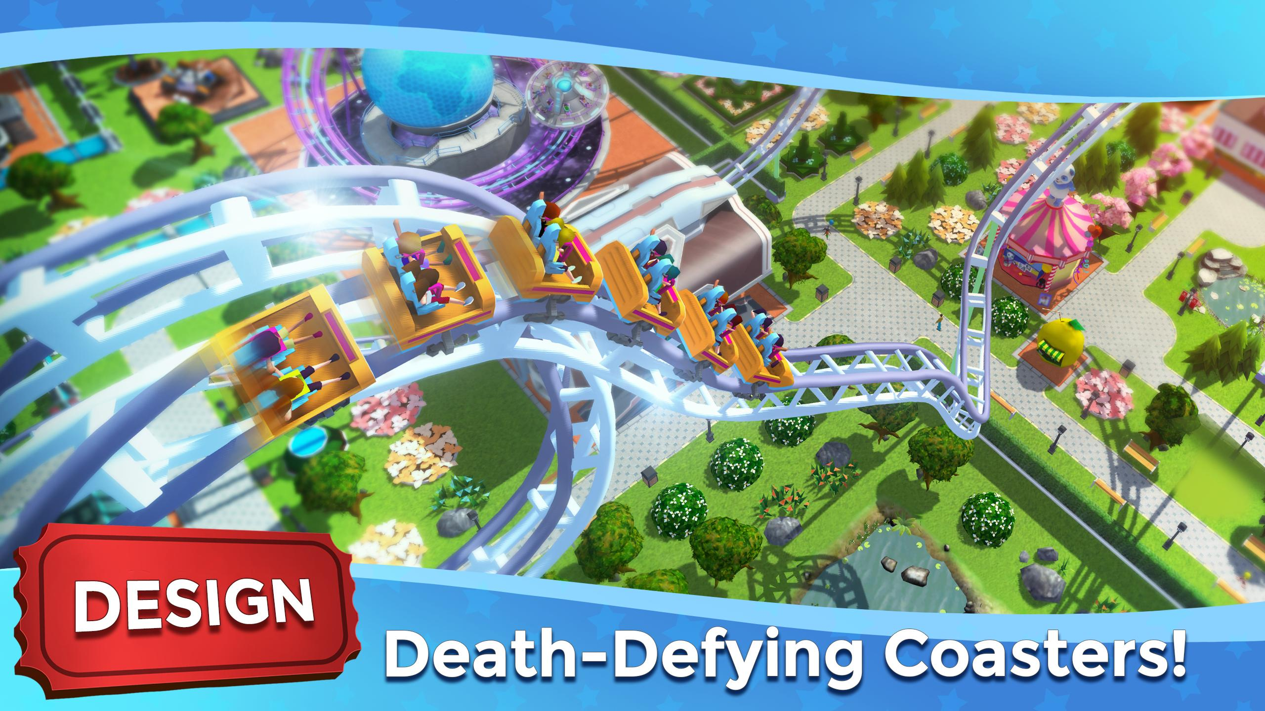 RollerCoaster Tycoon Touch - Build your Theme Park 3.5.0 Screenshot 2