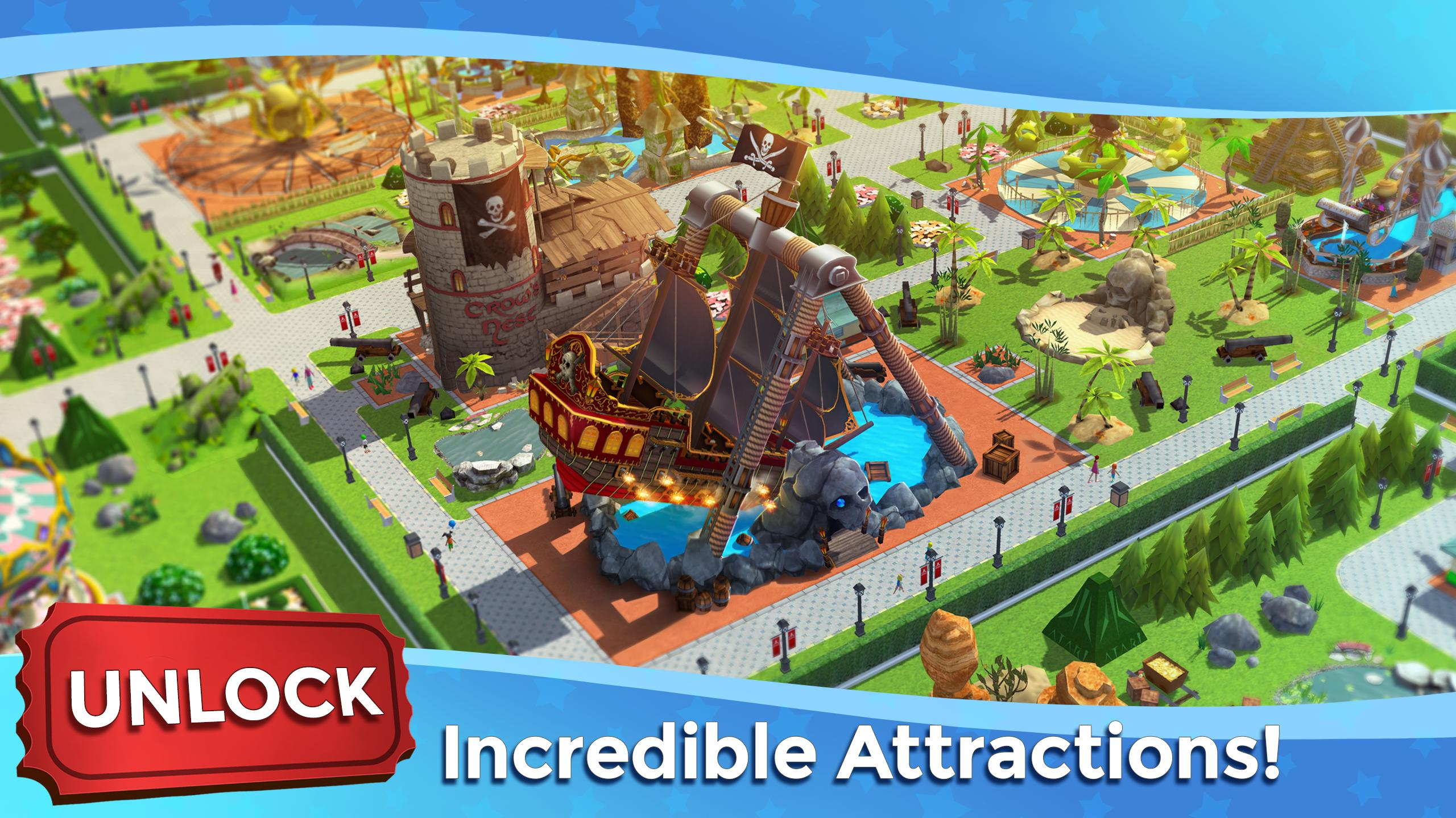 RollerCoaster Tycoon Touch - Build your Theme Park 3.5.0 Screenshot 3