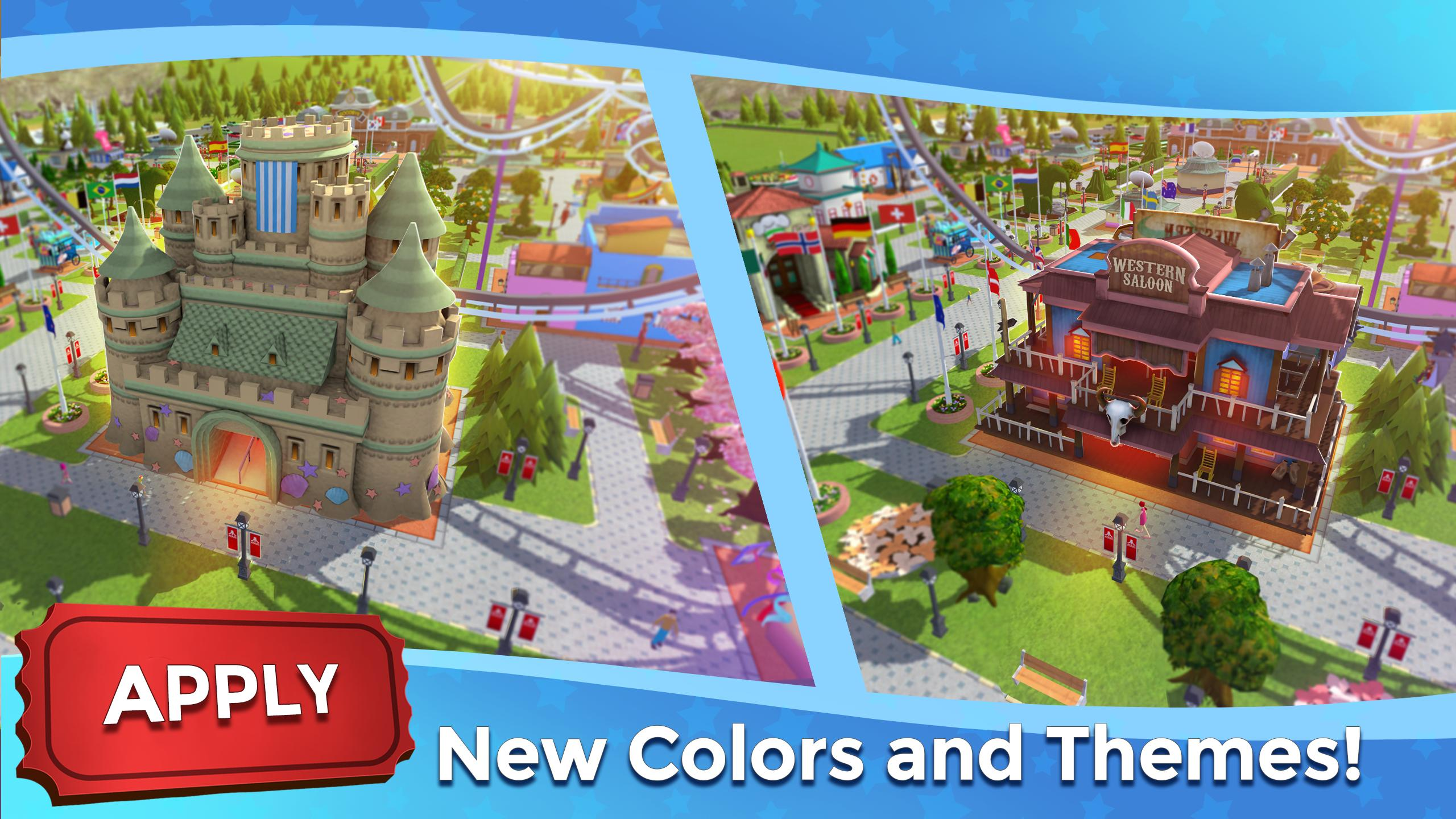RollerCoaster Tycoon Touch - Build your Theme Park 3.5.0 Screenshot 5