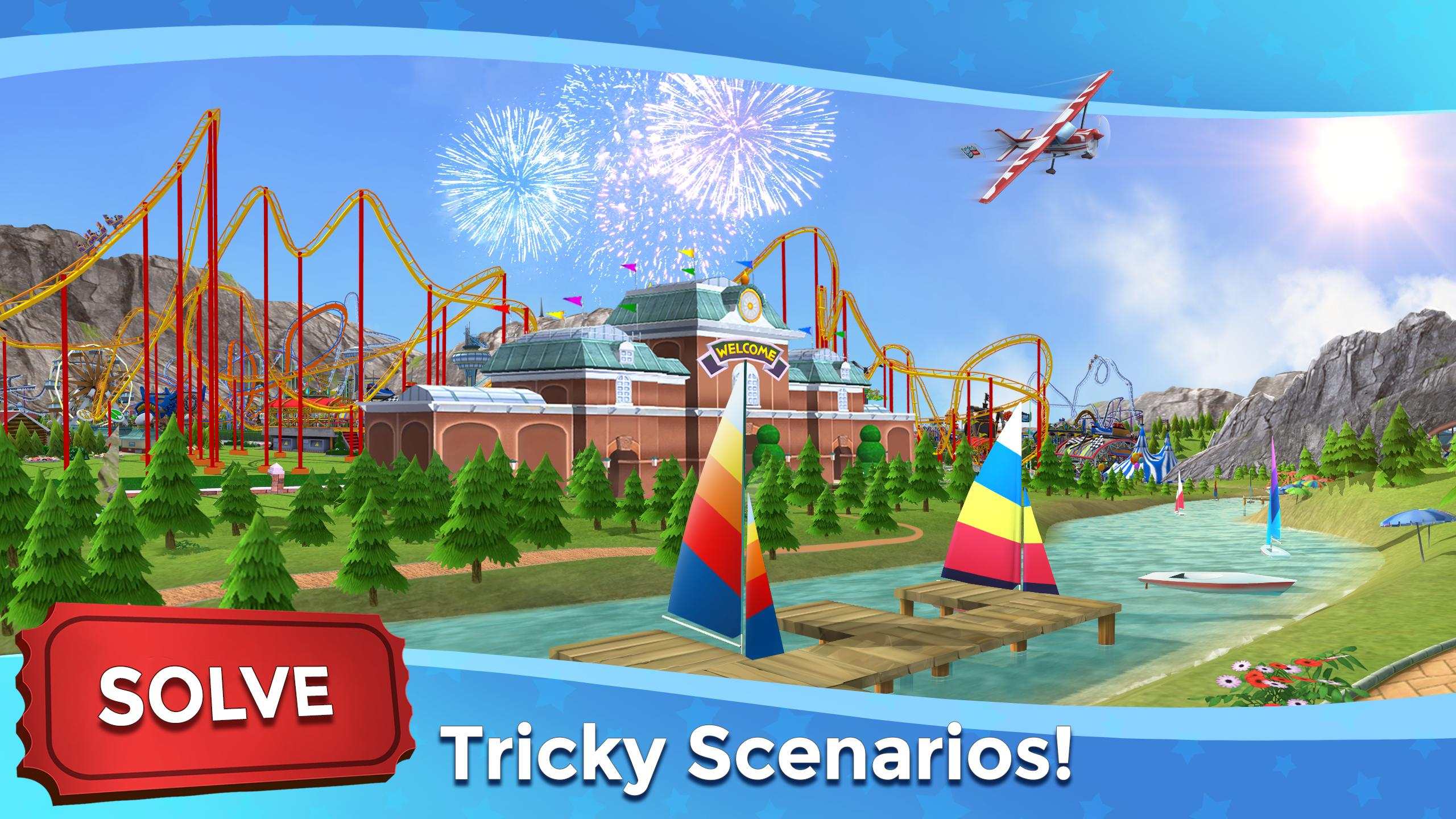 RollerCoaster Tycoon Touch - Build your Theme Park 3.5.0 Screenshot 6